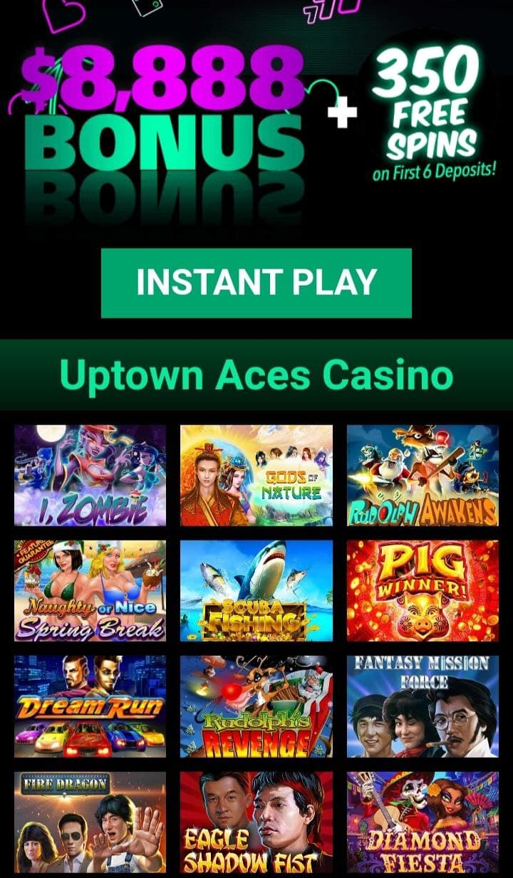 Uptown aces first screen