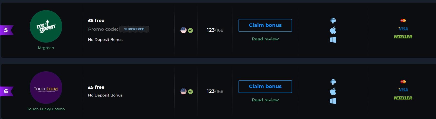 How to Claim 5 Pounds Bonus