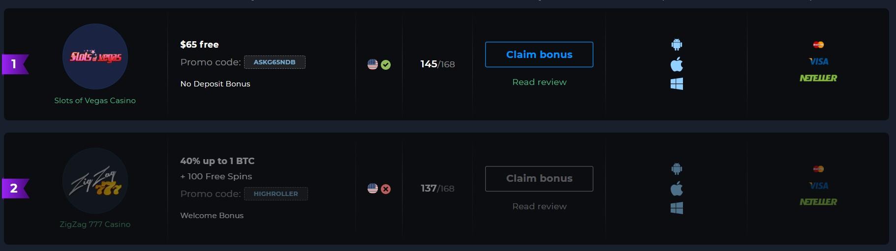 How to Claim 65 Dollars Bonus