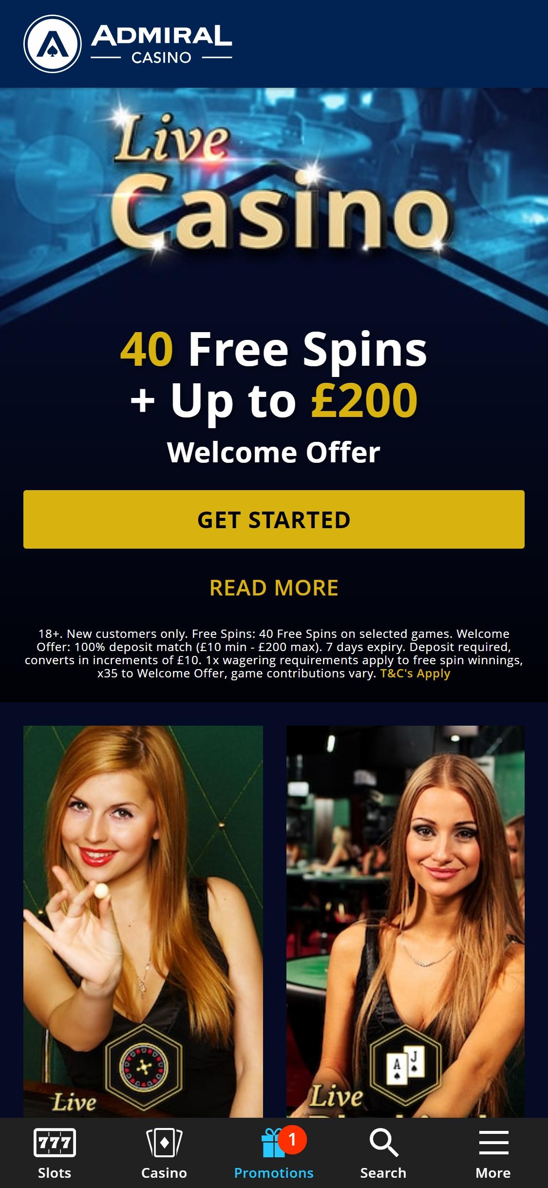 Admiral Casino Review 2021 ᐈ Admiralcasino Slot Games Admiralcasino Co Uk Mobile App