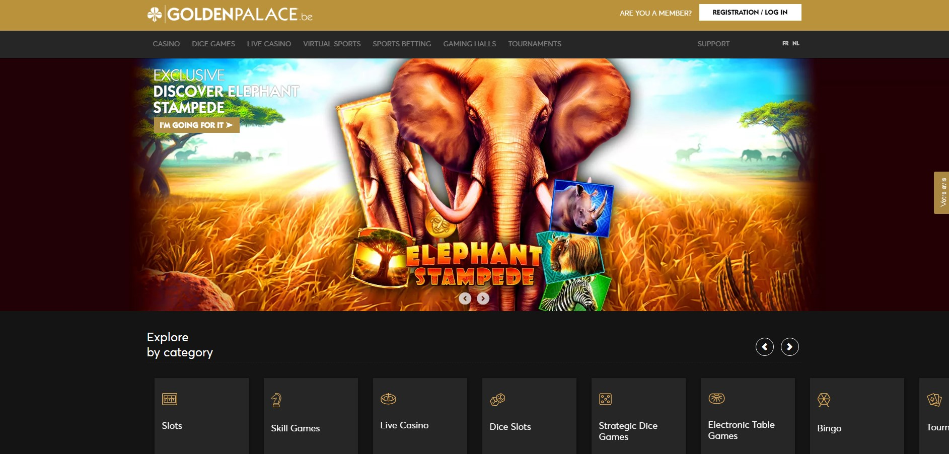 Golden Palace (BE) Casino Review