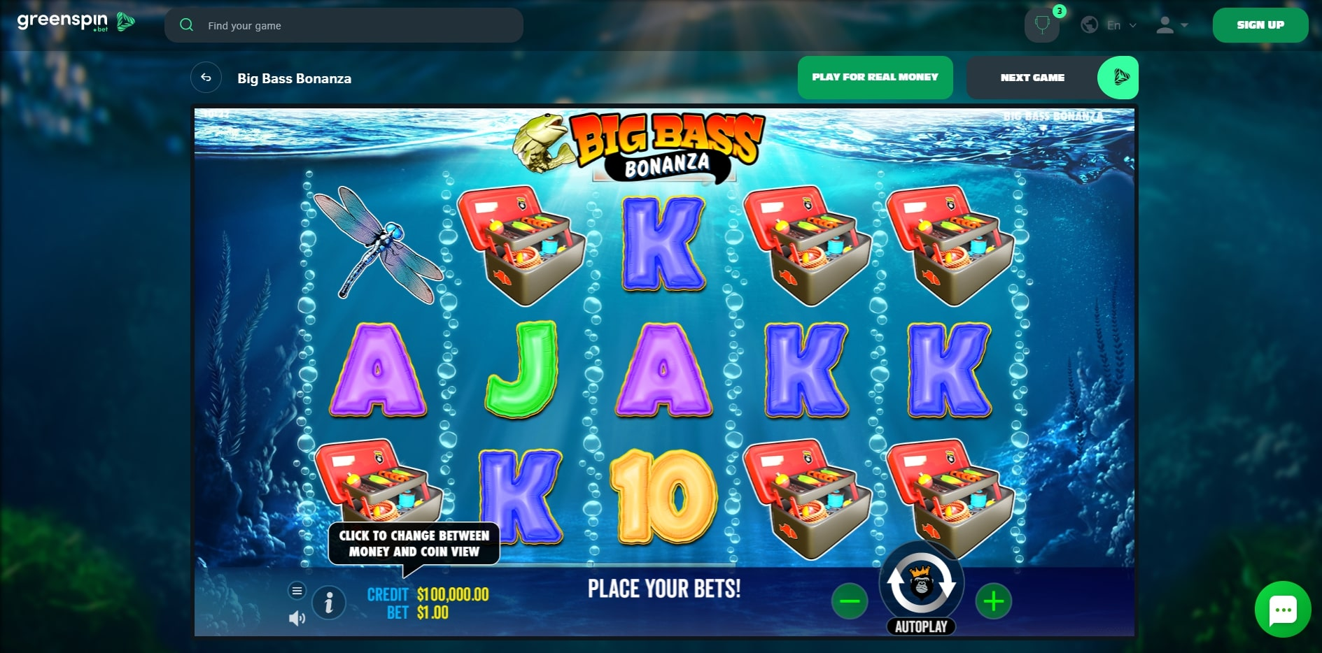 Greenspin Casino Slot Games