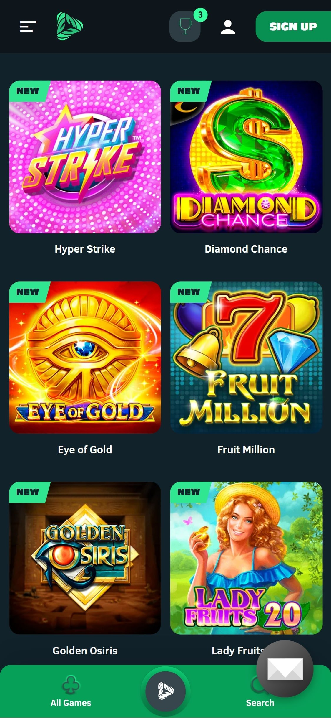Greenspin Casino Games