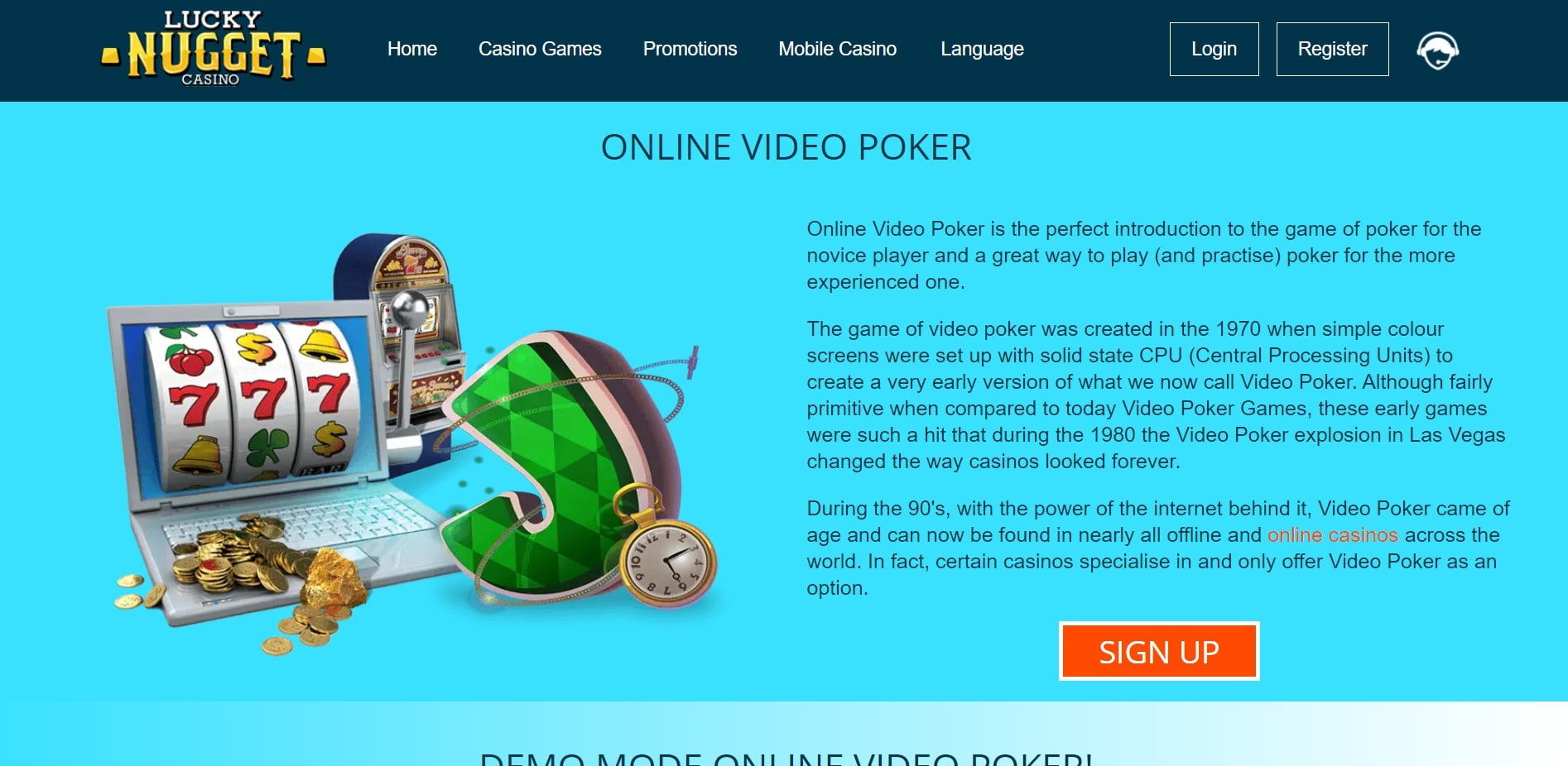 Lucky Nugget Casino US Live Dealer Games