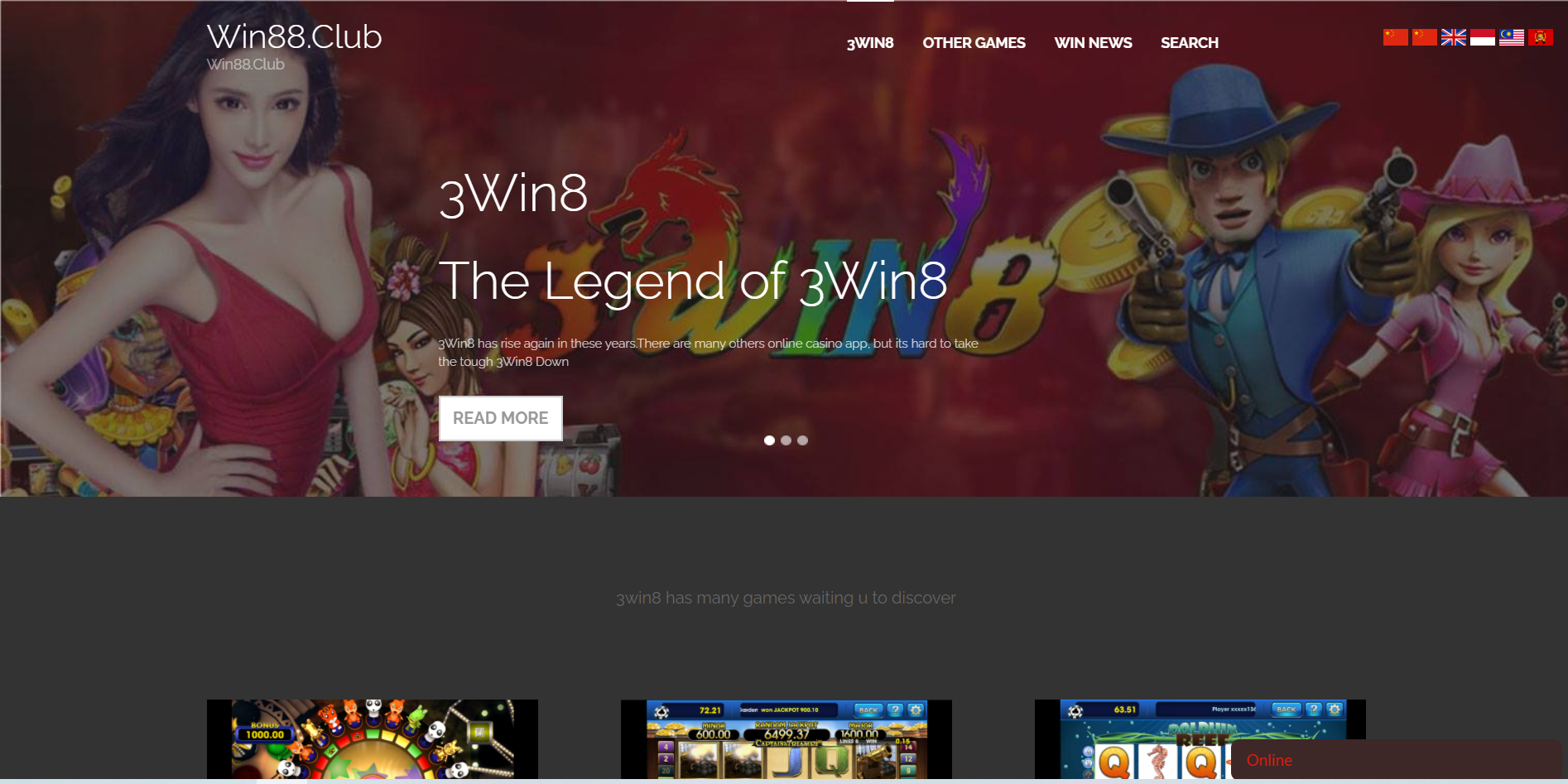 Win88 Club Casino Review