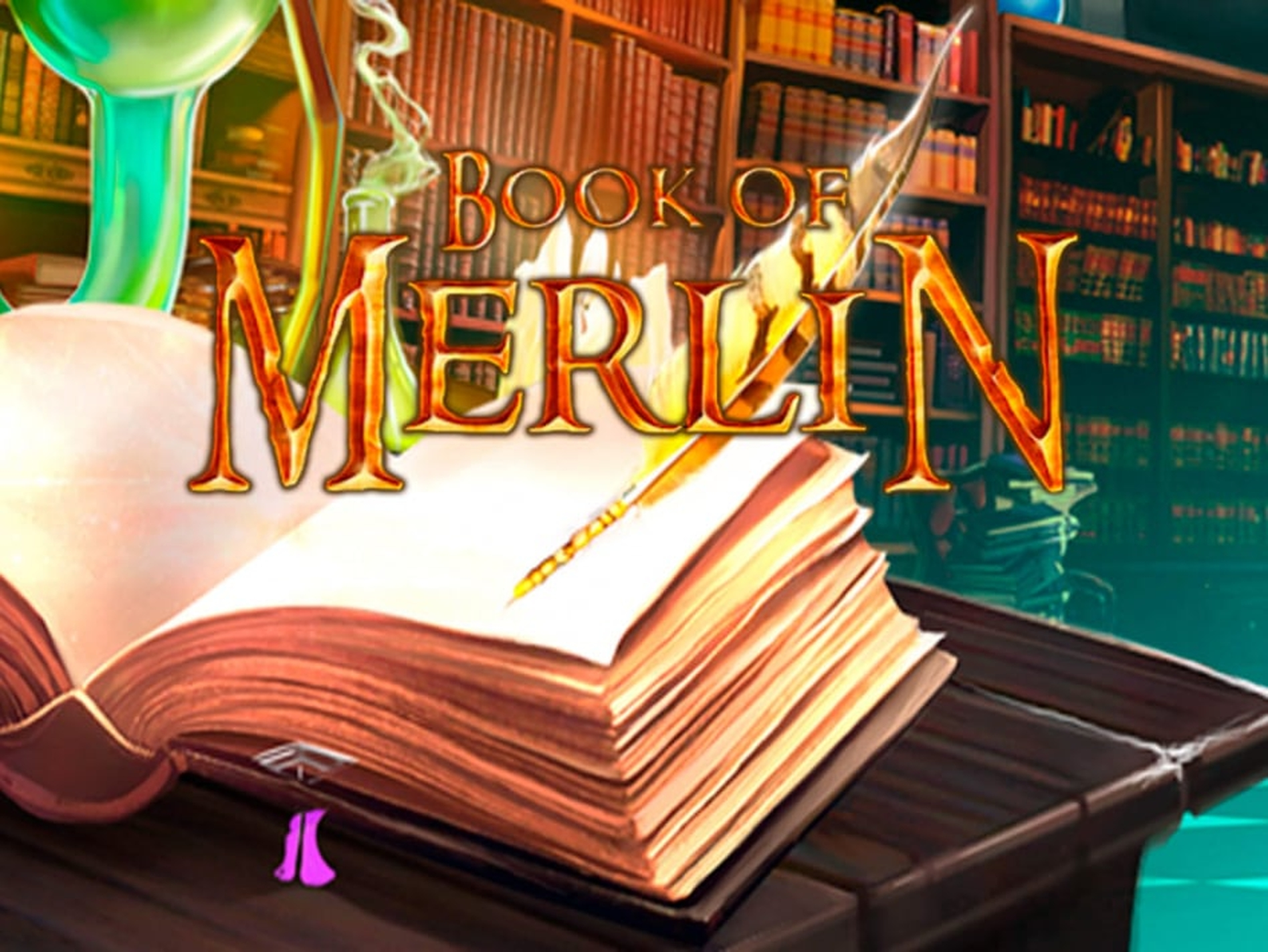 The Book Of Merlin Online Slot Demo Game by 1x2 Gaming