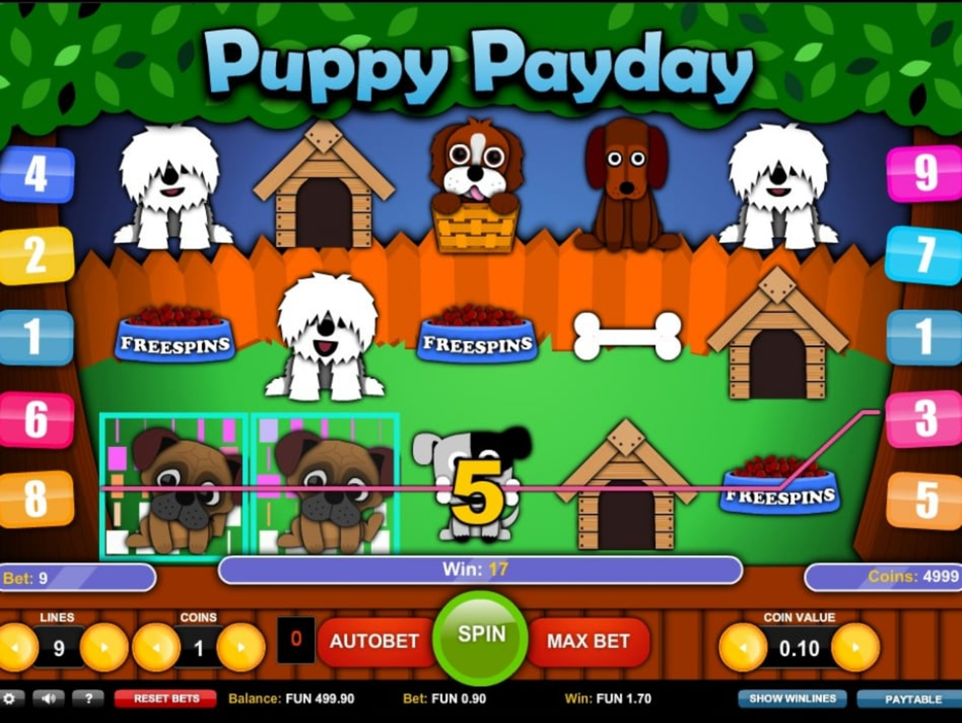 The Puppy Payday Online Slot Demo Game by 1x2 Gaming