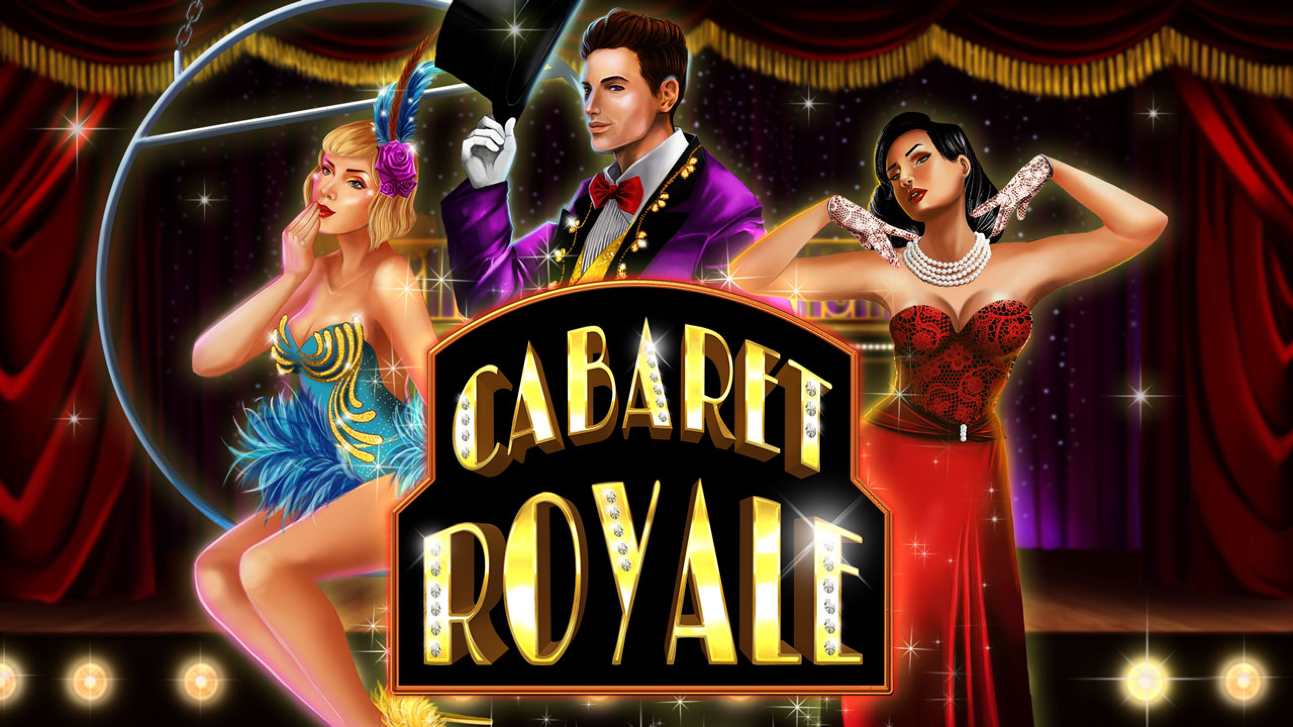 The Cabaret Royale Online Slot Demo Game by 2 By 2 Gaming