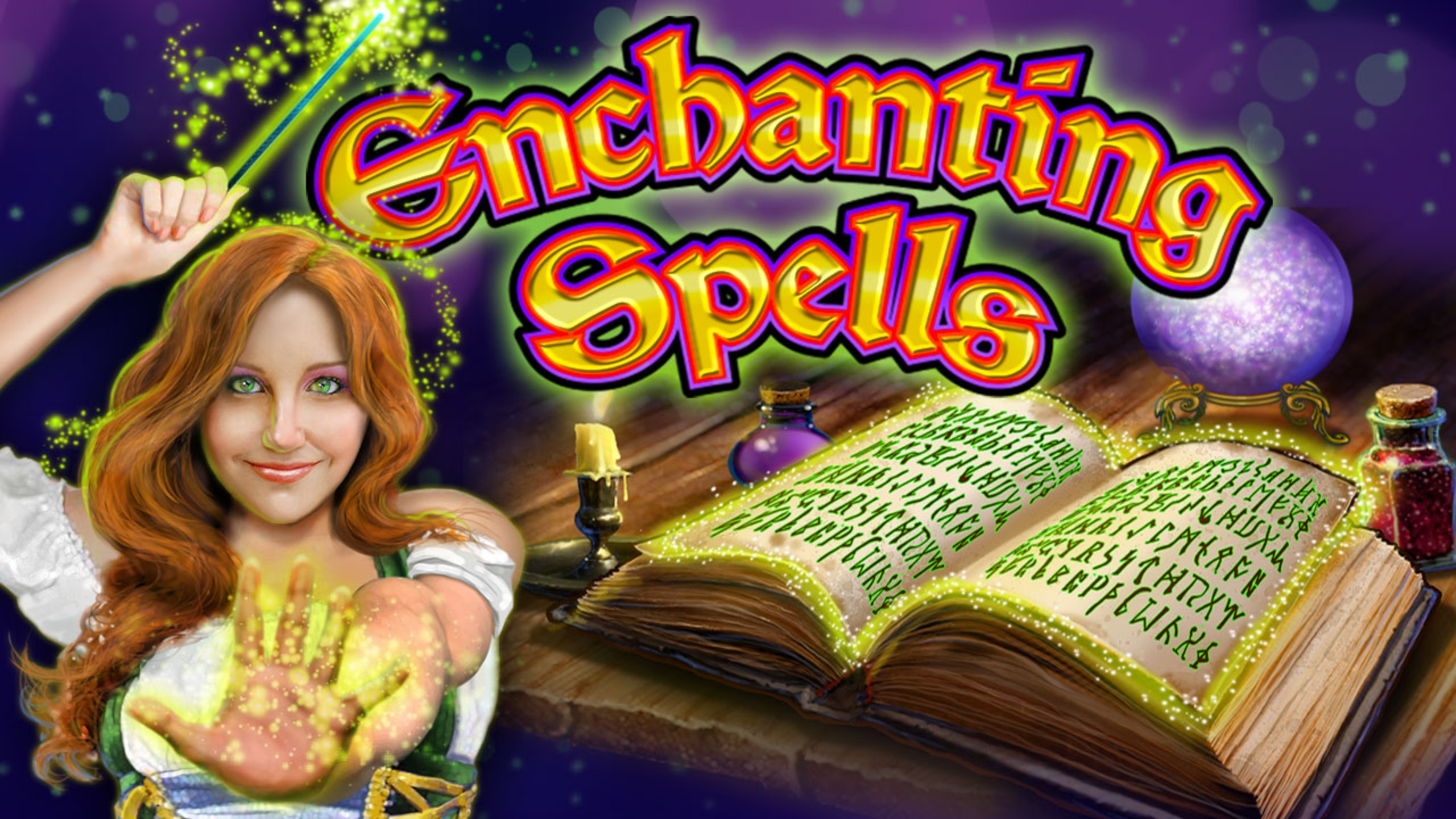 The Enchanting Spells Online Slot Demo Game by 2 By 2 Gaming