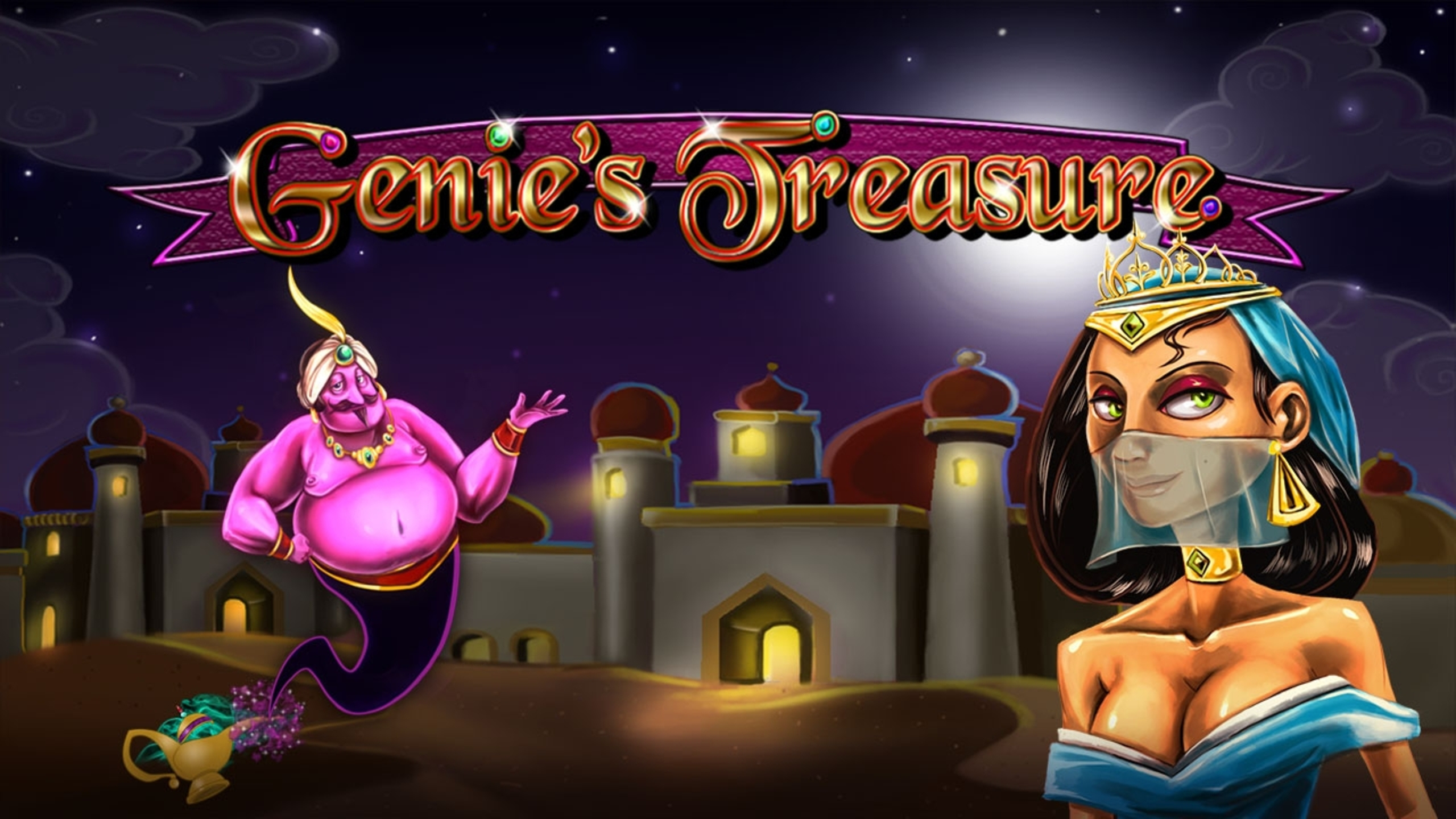 The Genie's Treasure (2by2) Online Slot Demo Game by 2 By 2 Gaming