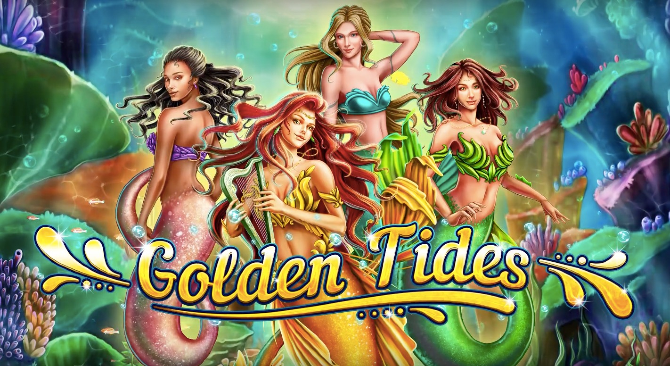 The Golden Tides Online Slot Demo Game by 2 By 2 Gaming