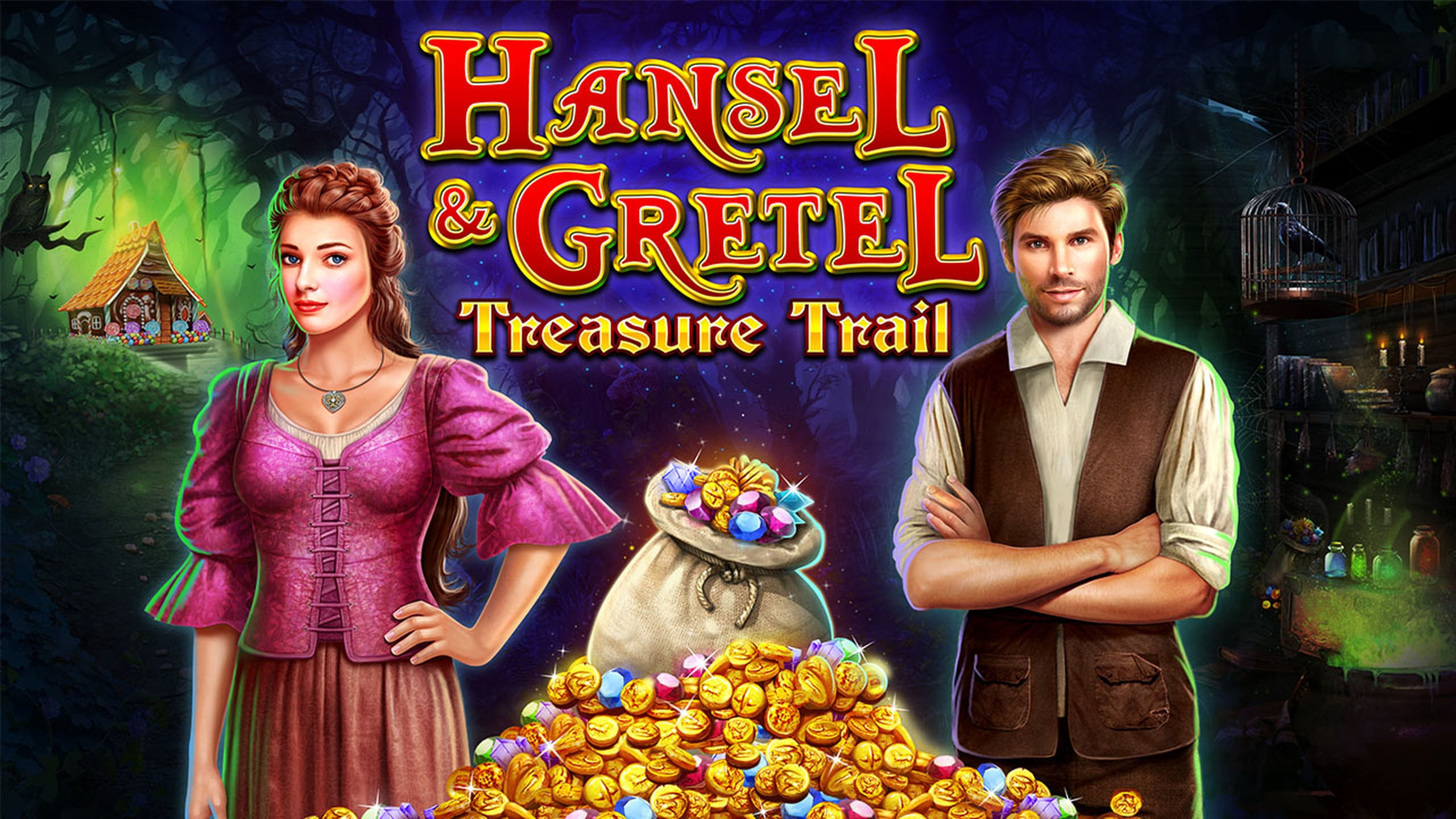 The Hansel & Gretel Treasure Trail Online Slot Demo Game by 2 By 2 Gaming