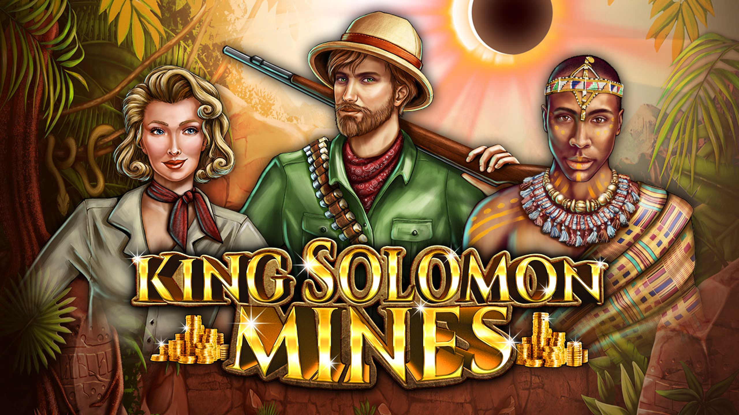The King Solomon Mines Online Slot Demo Game by 2 By 2 Gaming