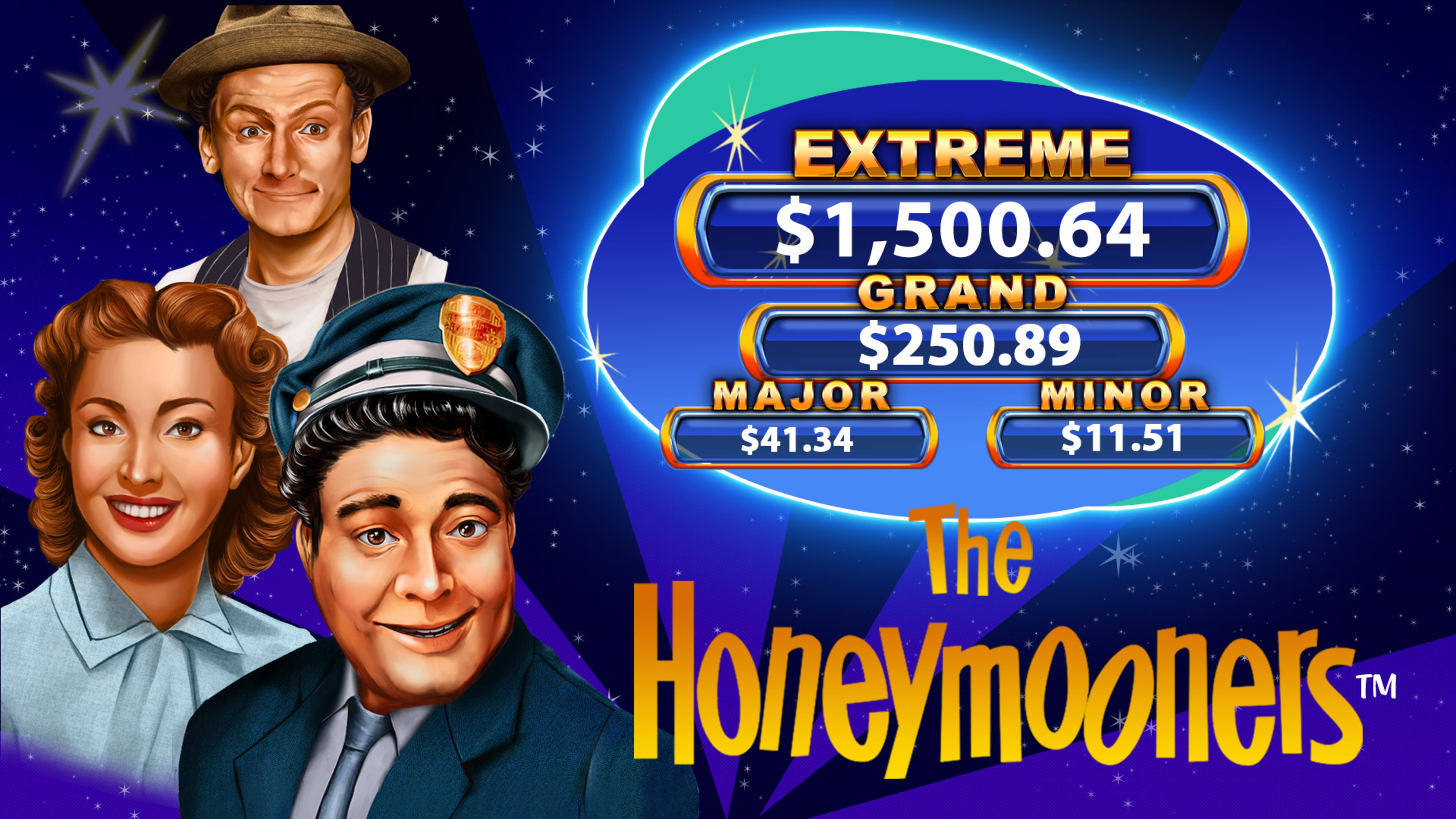 The The Honeymooners Online Slot Demo Game by 2 By 2 Gaming