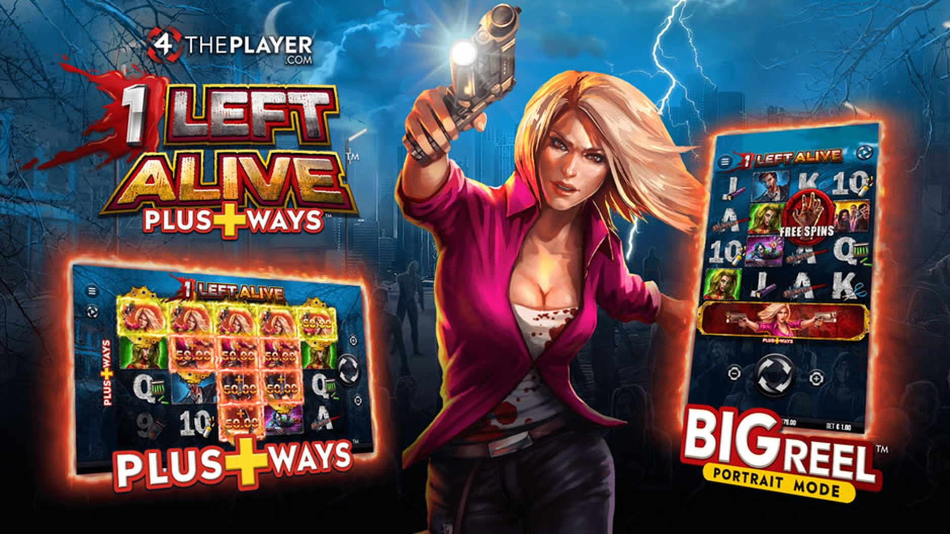 The 1 Left Alive Online Slot Demo Game by 4ThePlayer