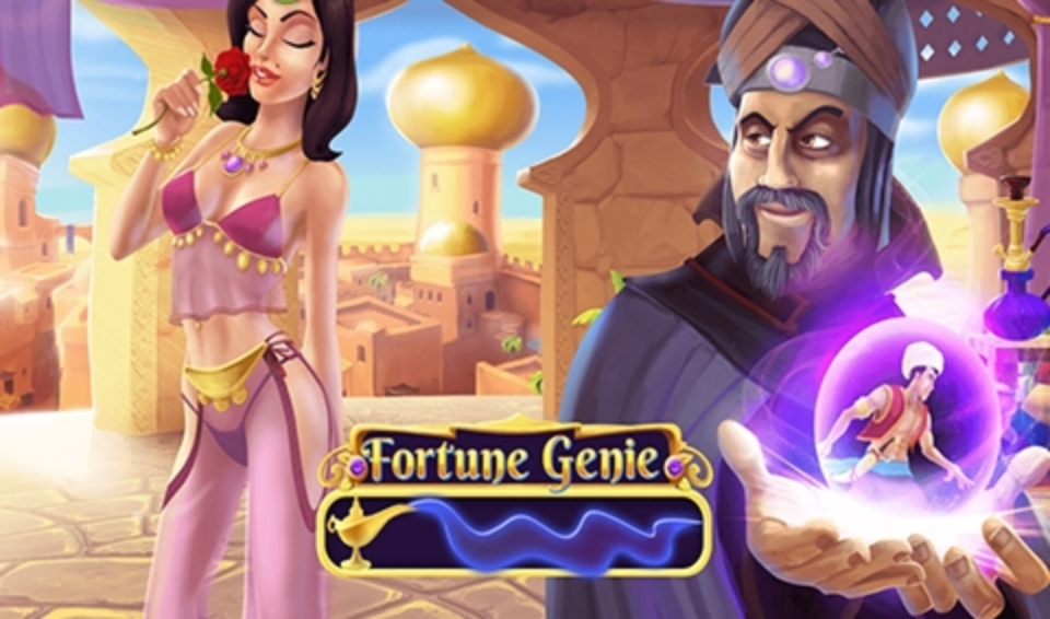 Fortune Genie Online Slot Demo Game by 7mojos