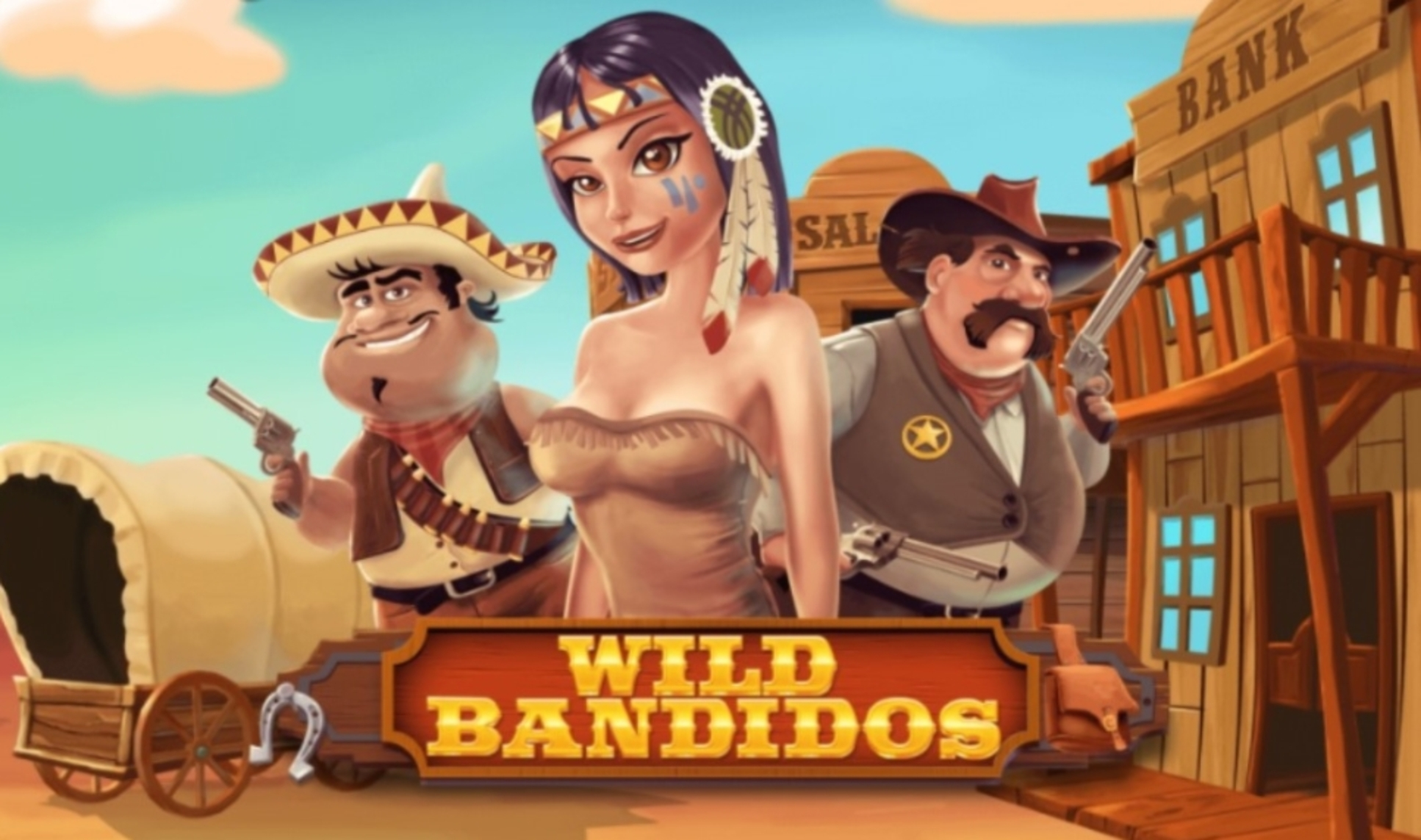 Wild Bandidos Online Slot Demo Game by 7mojos