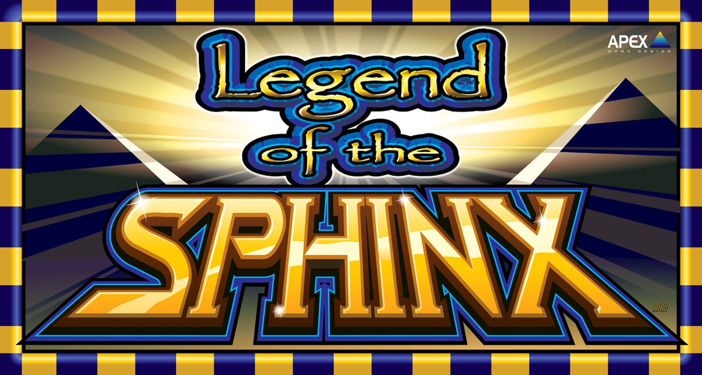 The Legend of the Sphinx Online Slot Demo Game by Apex Gaming