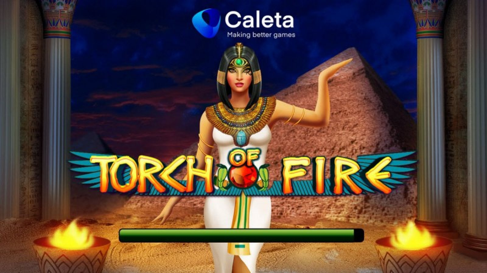The Torch of Fire Online Slot Demo Game by Caleta Gaming