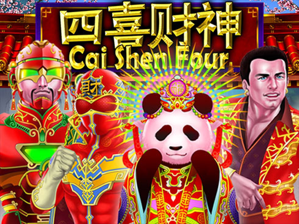 The Cai Shen Four Online Slot Demo Game by Gamatron