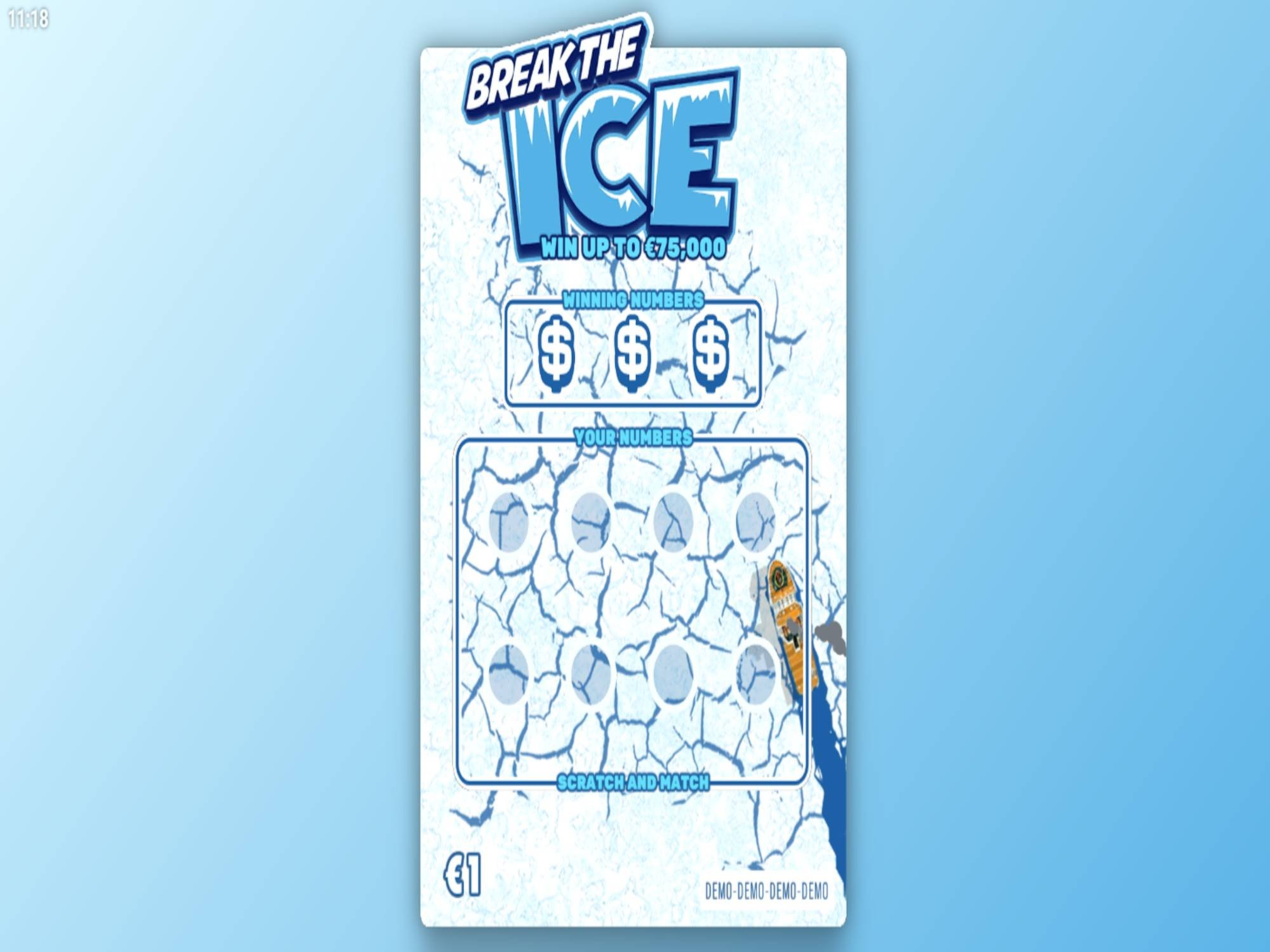 The Break the Ice Online Slot Demo Game by Hacksaw Gaming