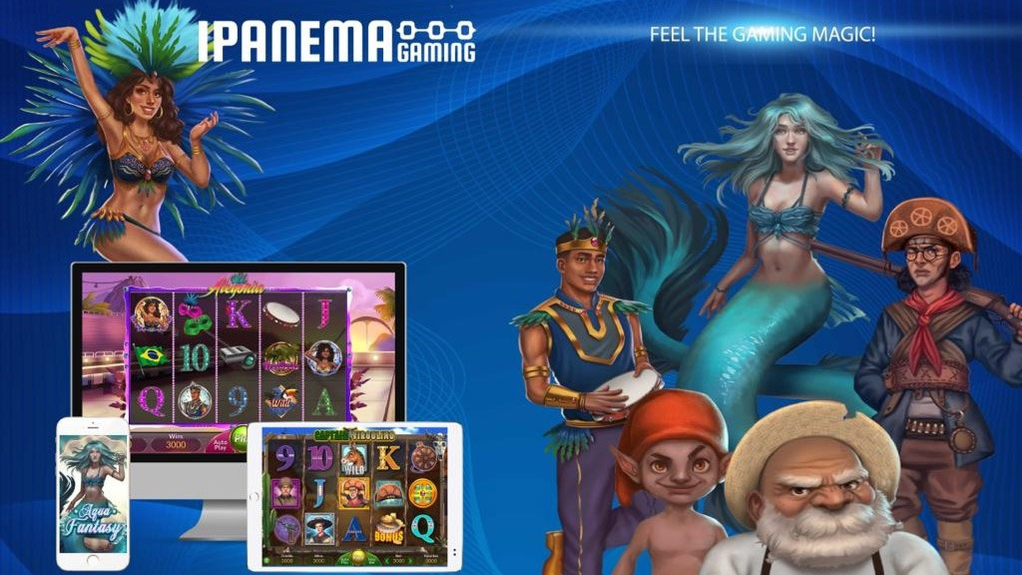 The Alegoria Online Slot Demo Game by Ipanema Gaming