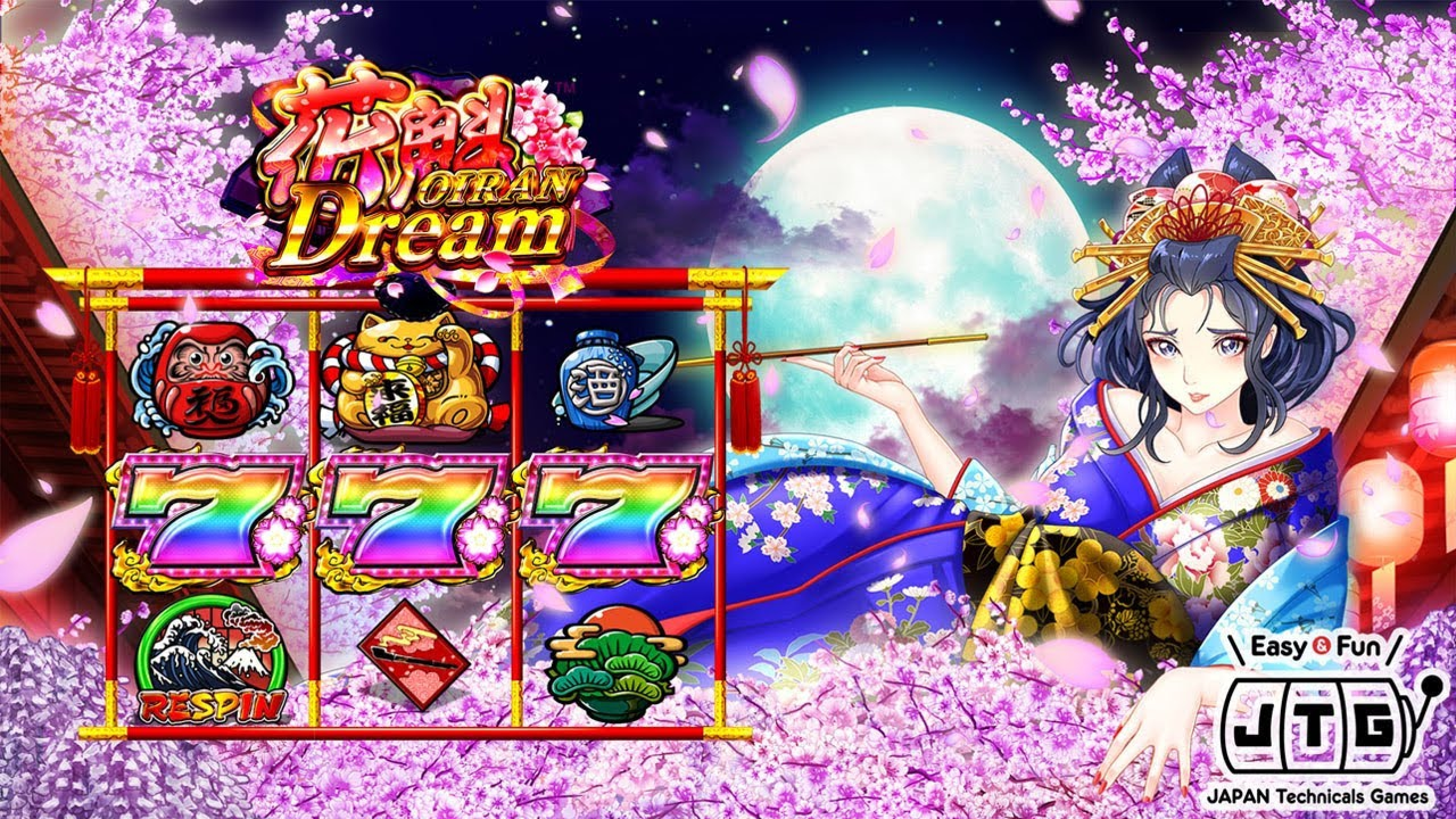 The Oiran Dream Online Slot Demo Game by JTG
