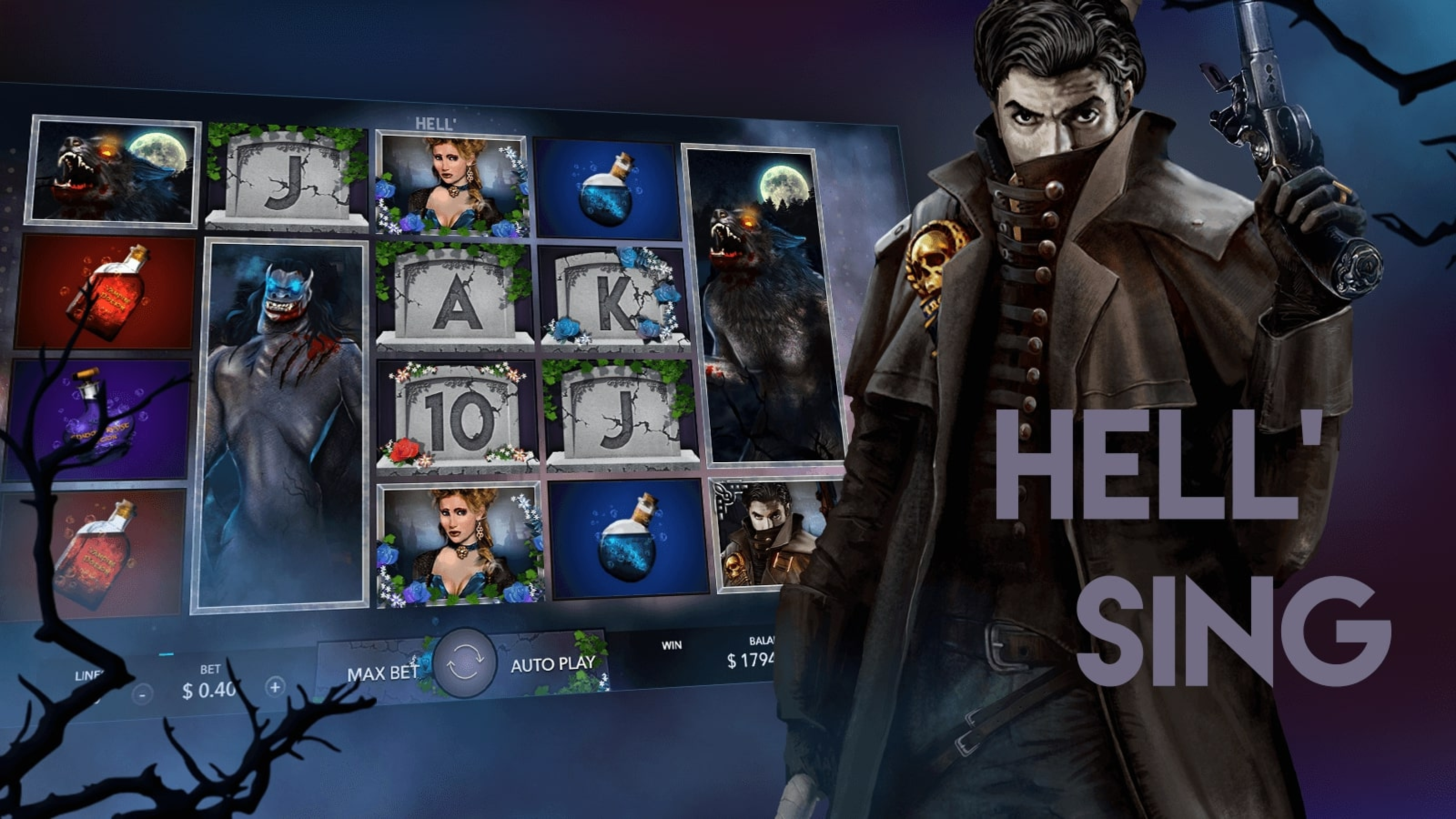 The Hell'Sing Online Slot Demo Game by Mascot Gaming