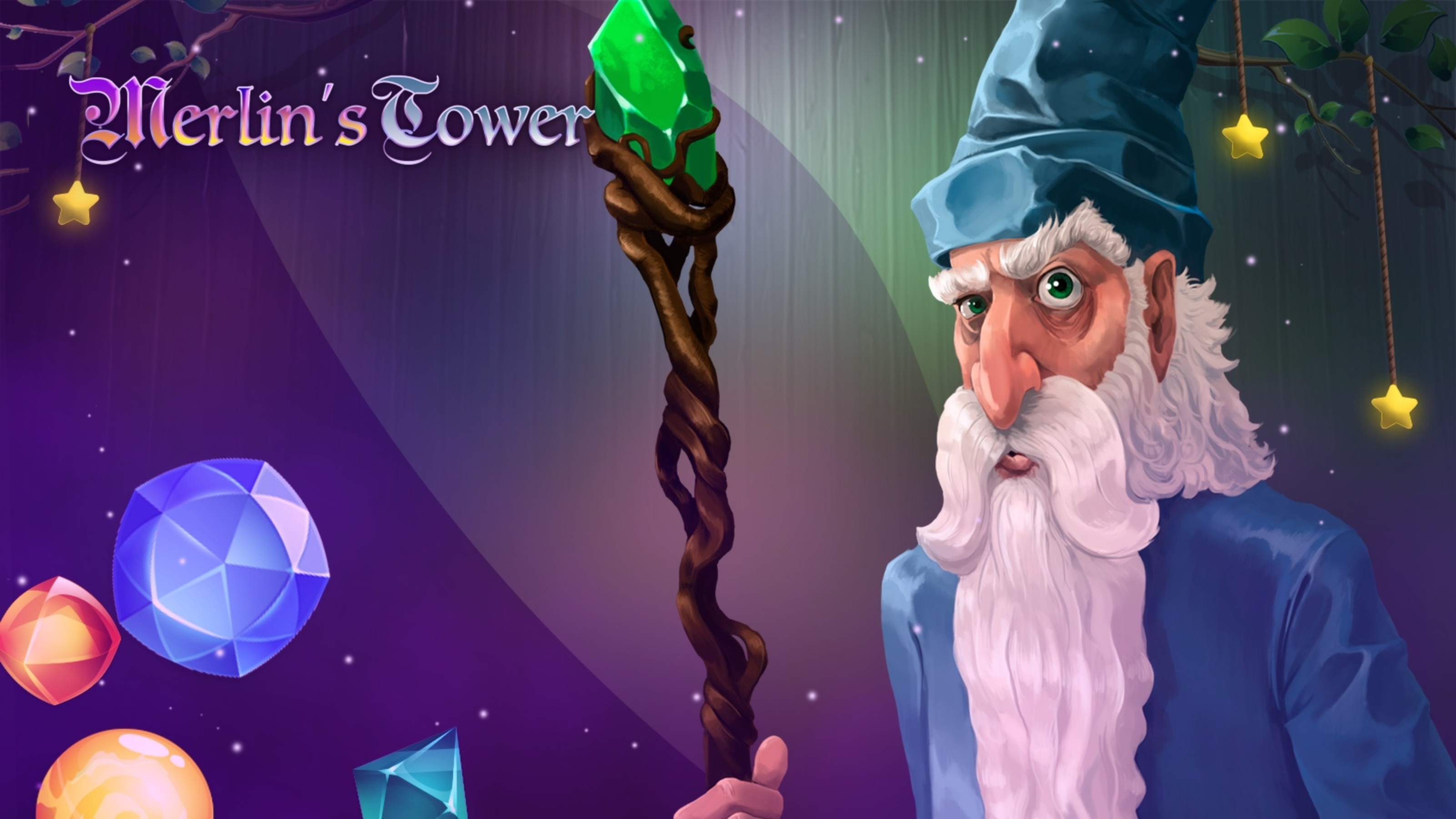 The Merlin's Tower Online Slot Demo Game by Mascot Gaming