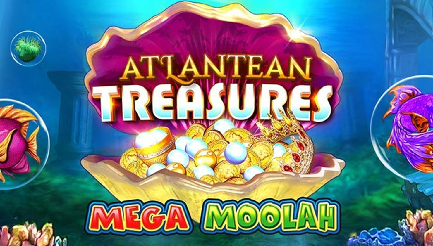 Atlantean Treasures Mega Moolah Online Slot Demo Game by Neon Valley Studios
