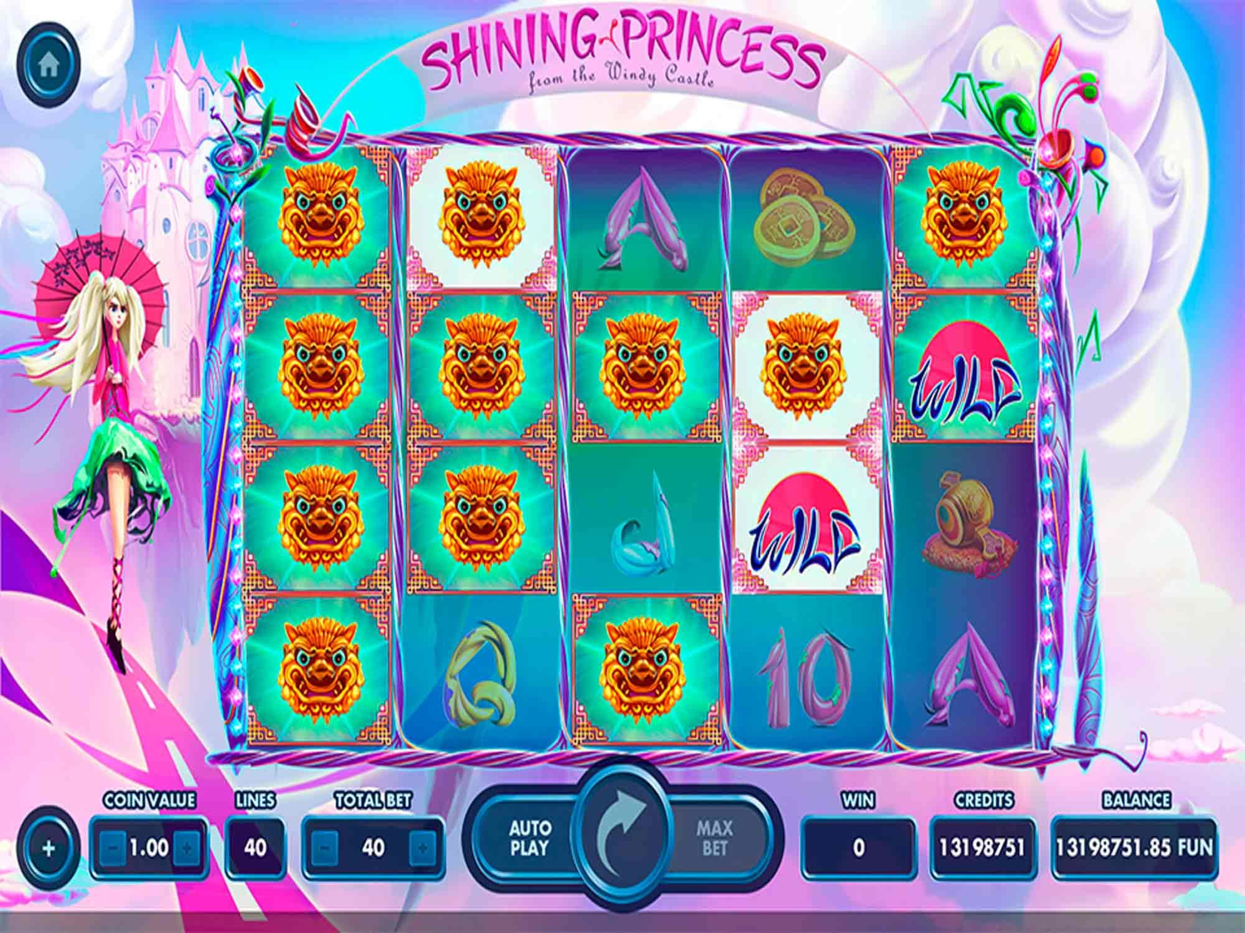 The Shining Princess Online Slot Demo Game by NetGame
