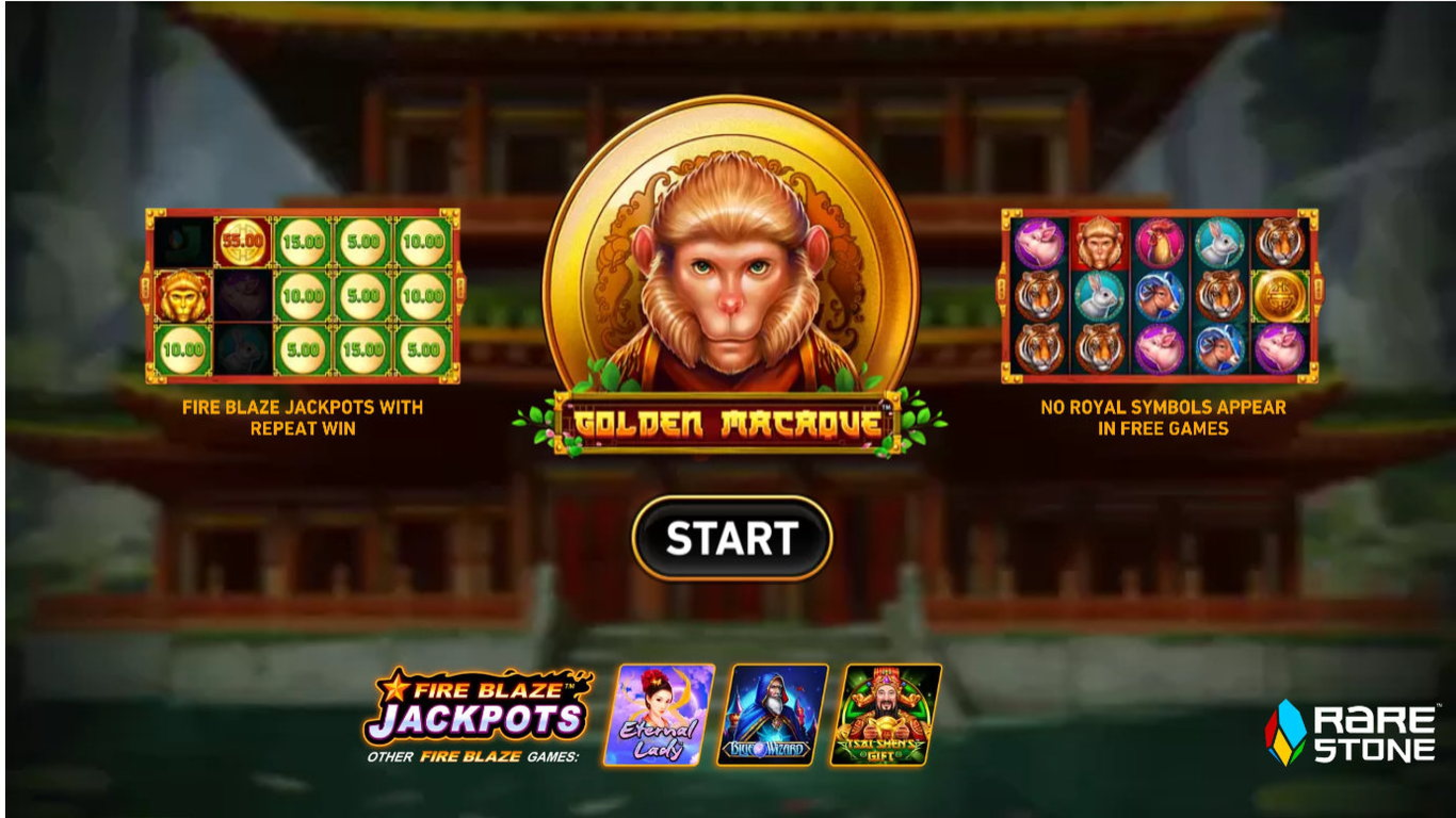 The Golden Macaque Online Slot Demo Game by Rarestone Gaming