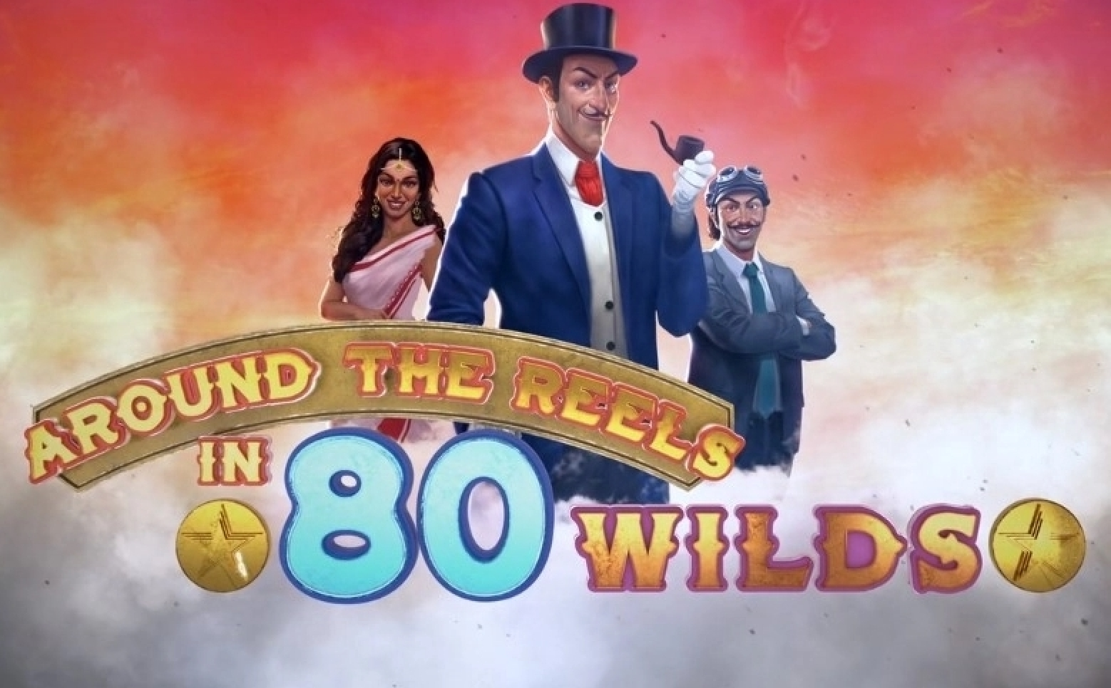 Reels in Around the Reels in 80 Wilds Slot Game by Roxor Gaming