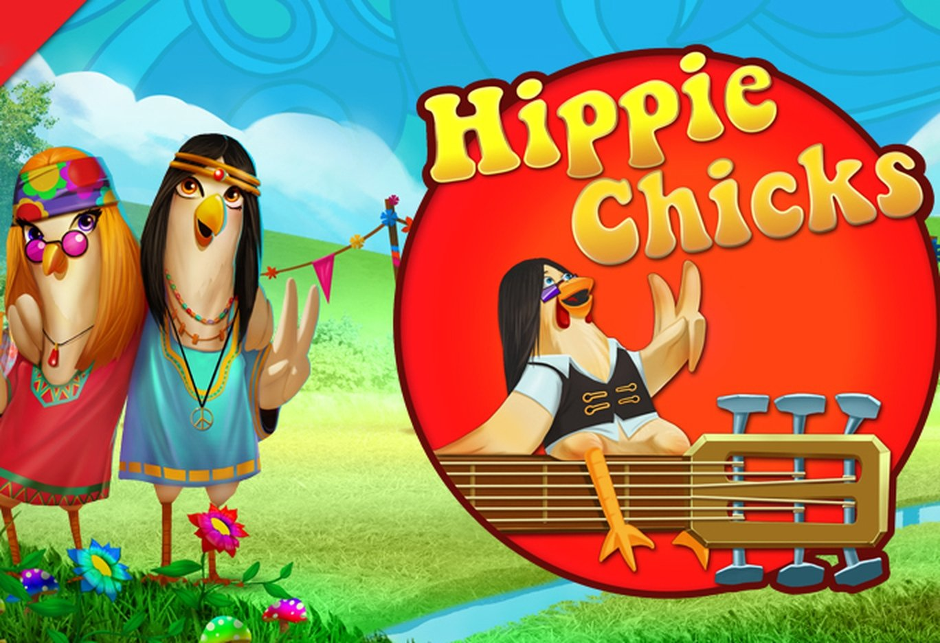 The HippieChicks Online Slot Demo Game by Skyrocket Entertainment