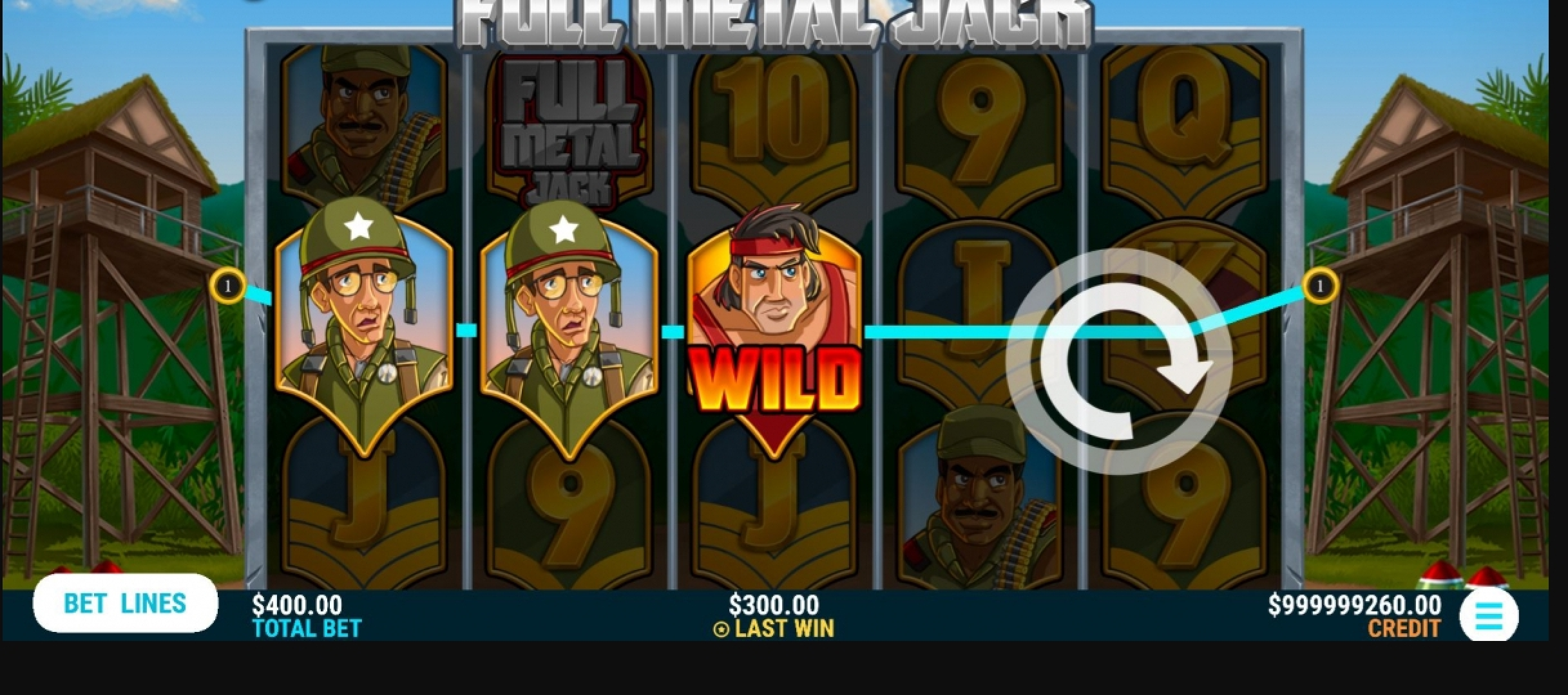 The Full Metal Jack Online Slot Demo Game by Slot Factory