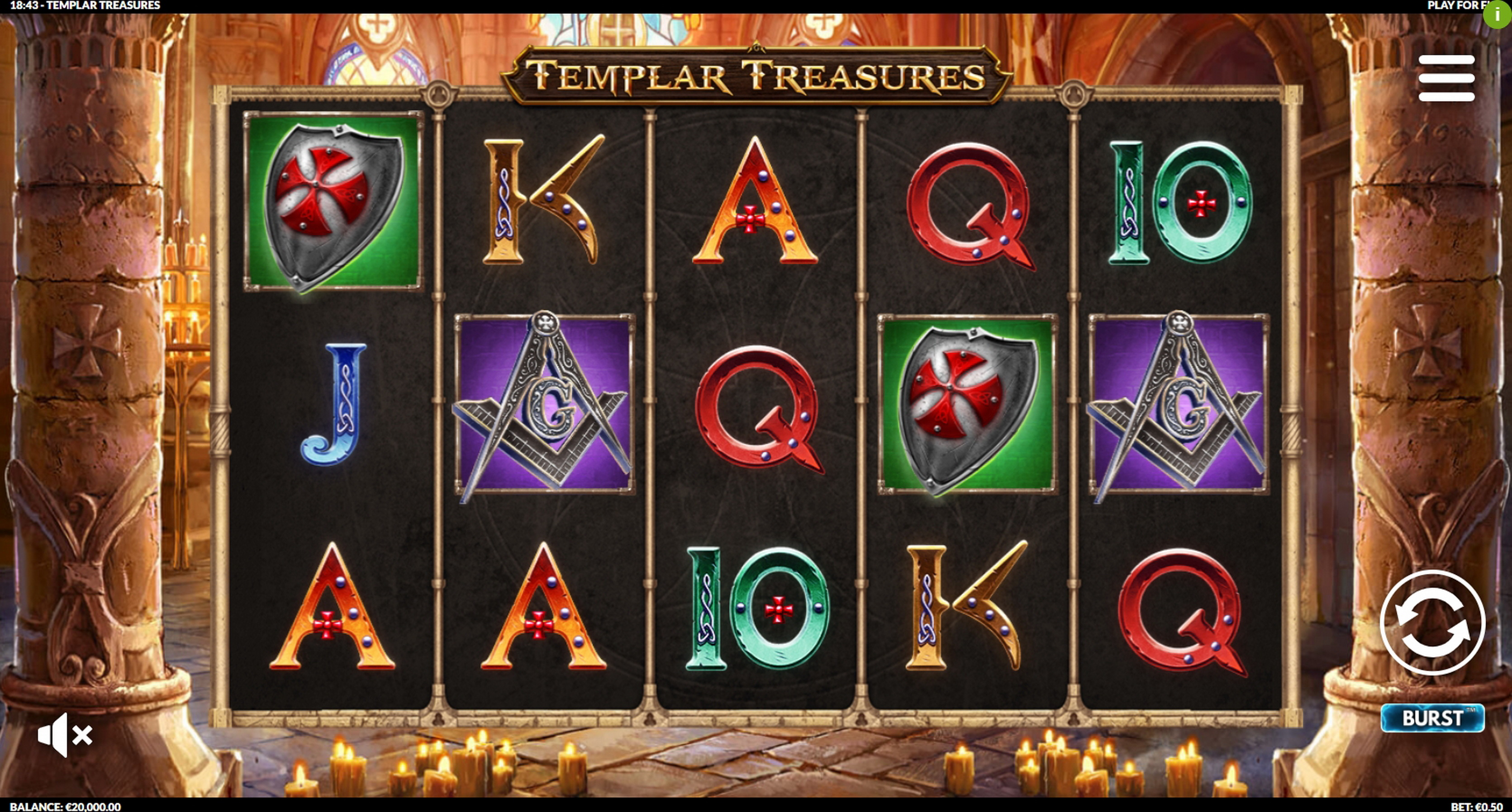 Treasures of Egypt Slot Machine