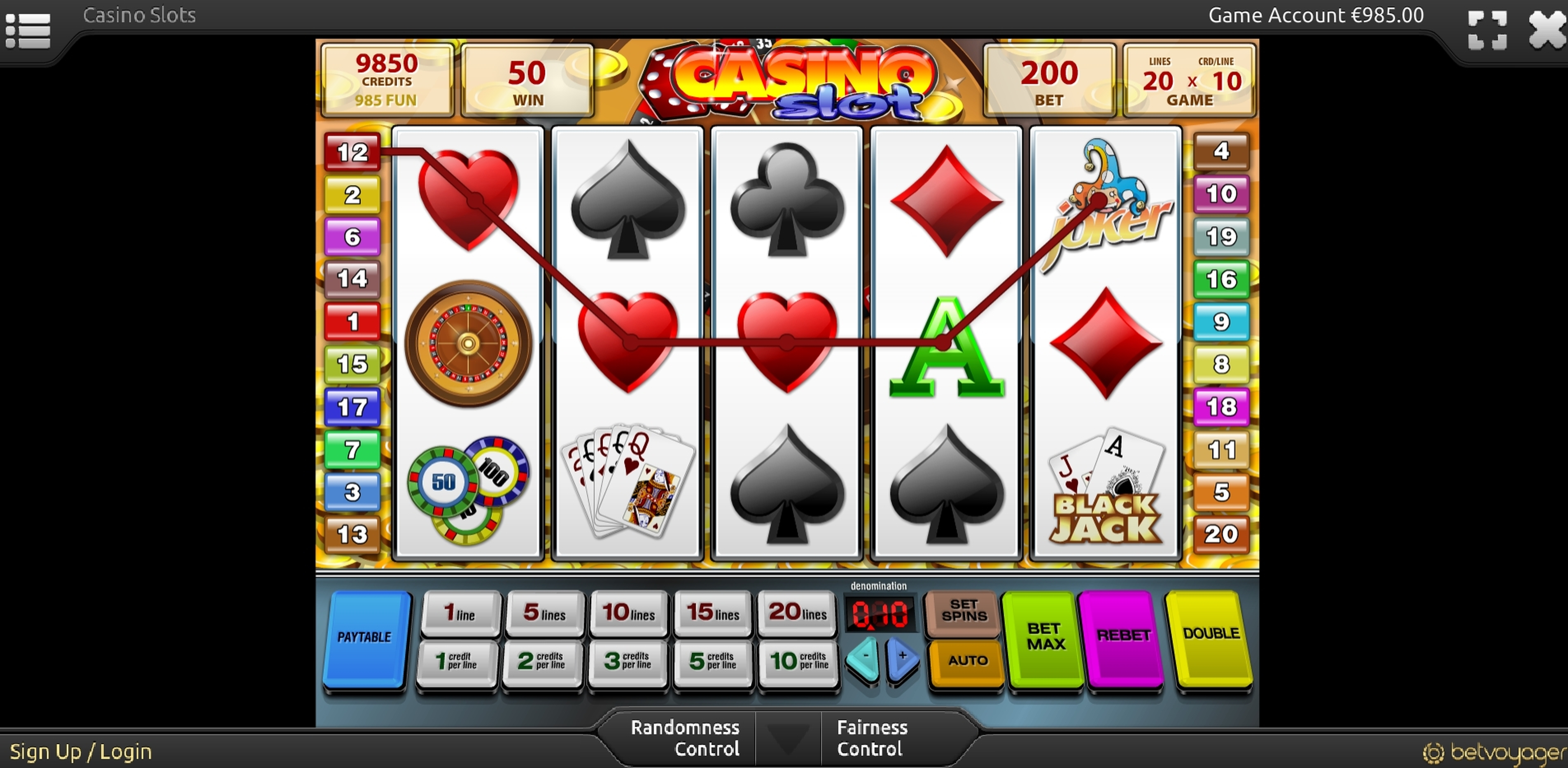 Win Money in Casino Slot Free Slot Game by Smartsoft Gaming