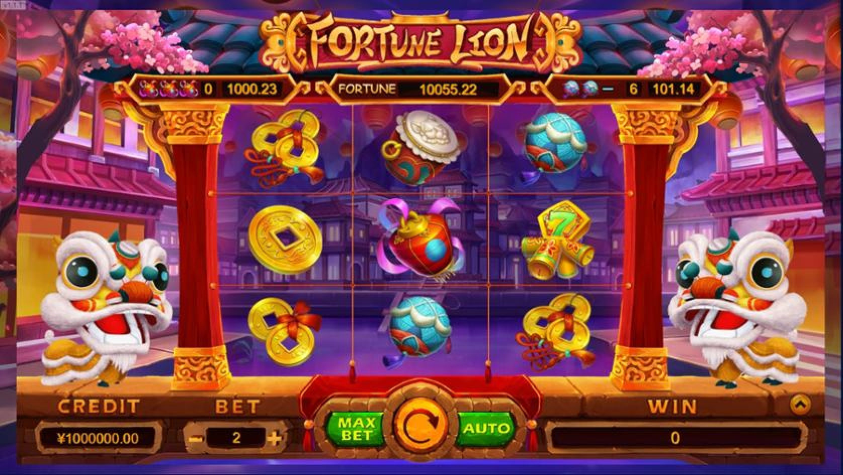Fortune Lion (TIDY) Online Slot Demo Game by TIDY
