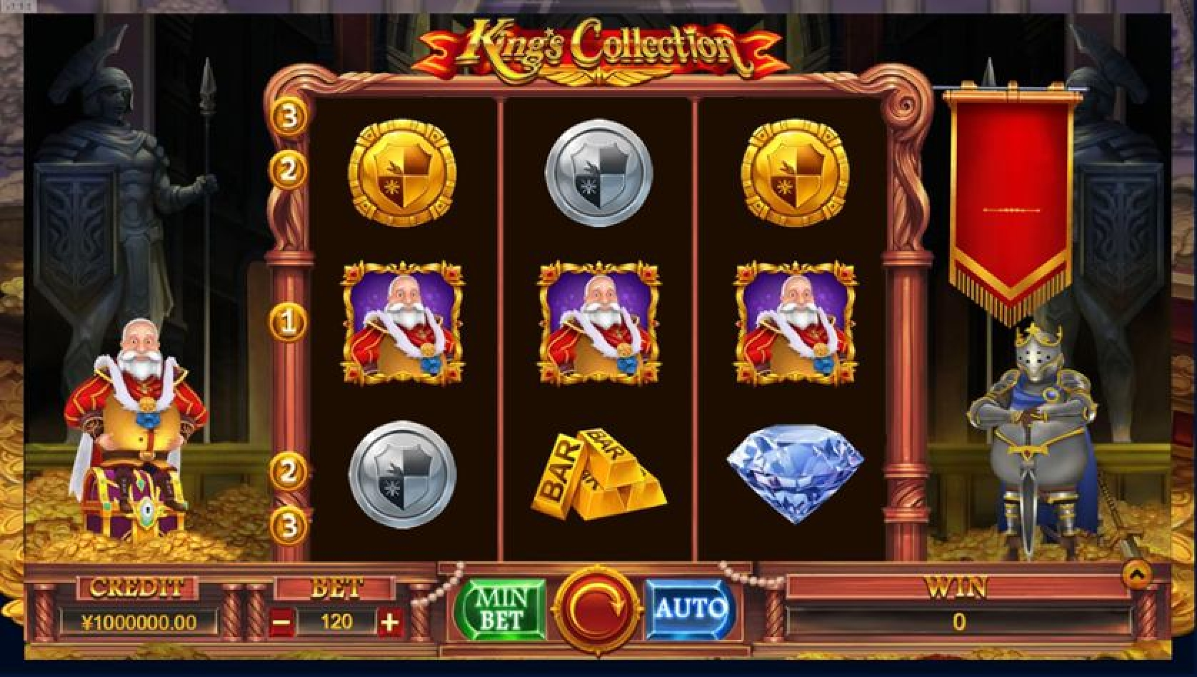 King Collection Online Slot Demo Game by TIDY