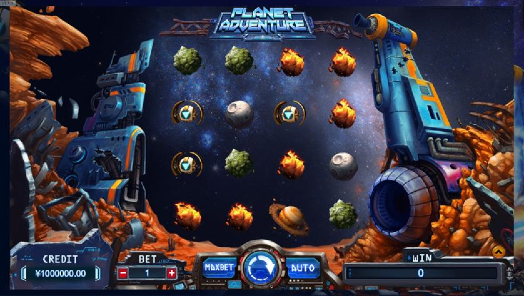 Planet Adventure Online Slot Demo Game by TIDY