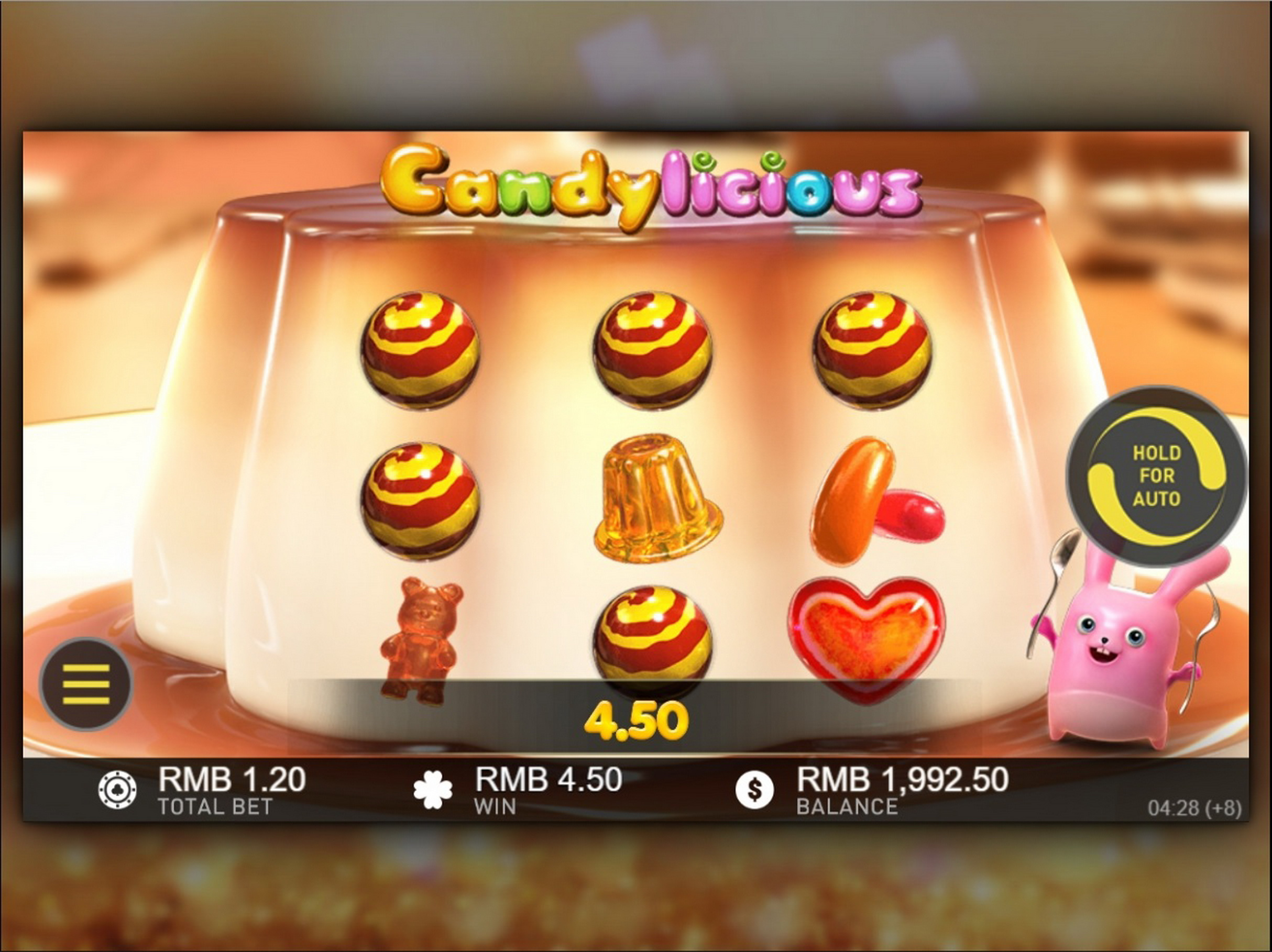 Win Money in Candylicious (Vermantia) Free Slot Game by Vermantia