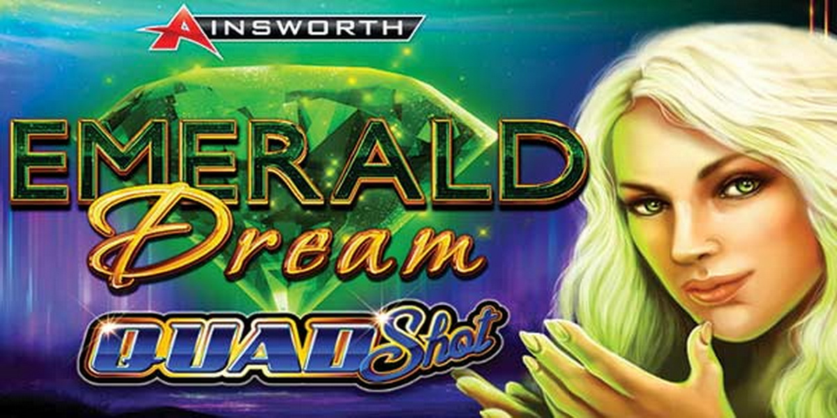 The Emerald Dream Quad Shot Online Slot Demo Game by Ainsworth Gaming Technology