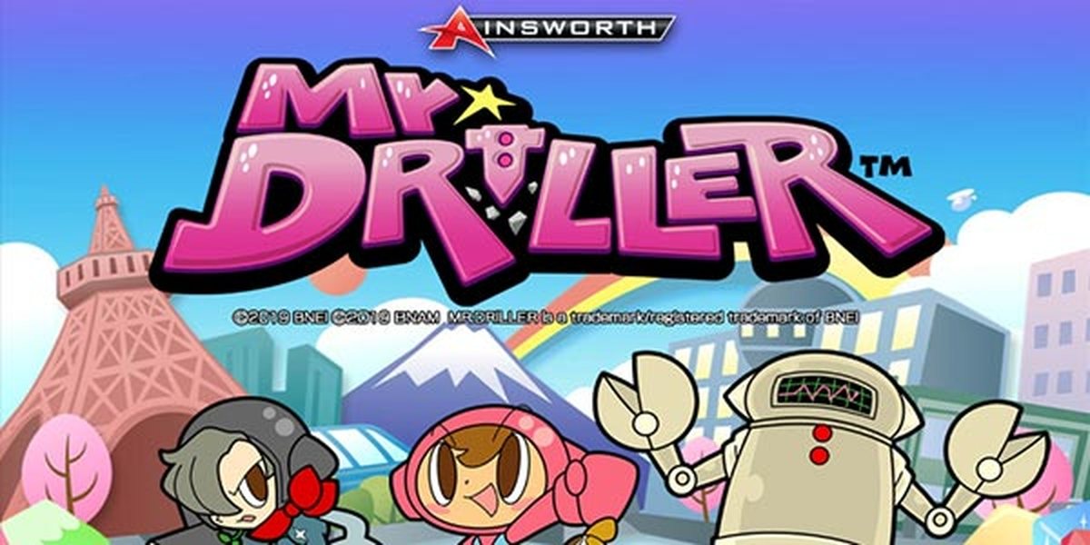 The Mr. Driller Online Slot Demo Game by Ainsworth Gaming Technology
