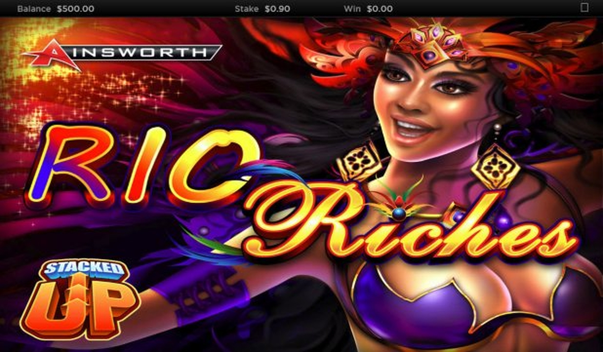 The Rio Riches - Stacked Up Online Slot Demo Game by Ainsworth Gaming Technology