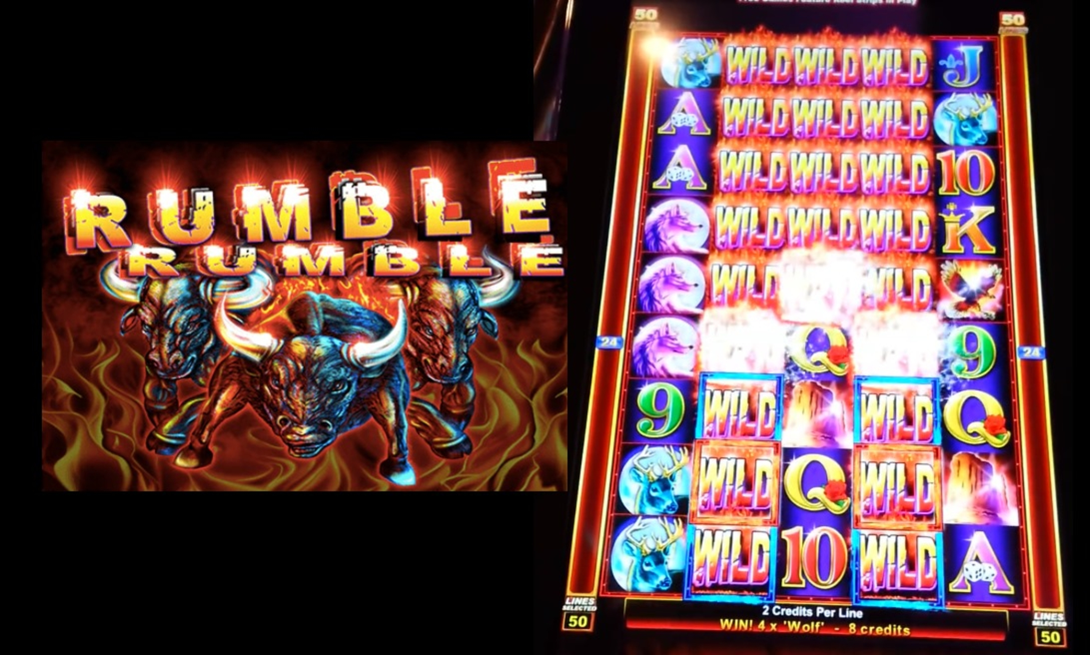 The Rumble Rumble Online Slot Demo Game by Ainsworth Gaming Technology