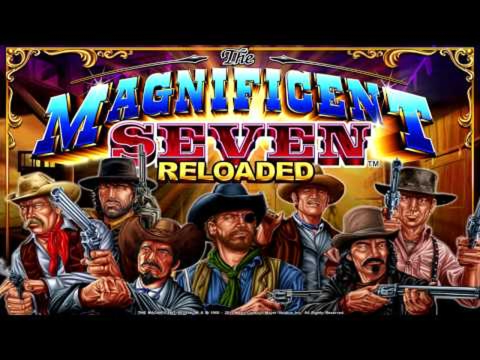 The The Magnificent Seven Reloaded Online Slot Demo Game by Ainsworth Gaming Technology