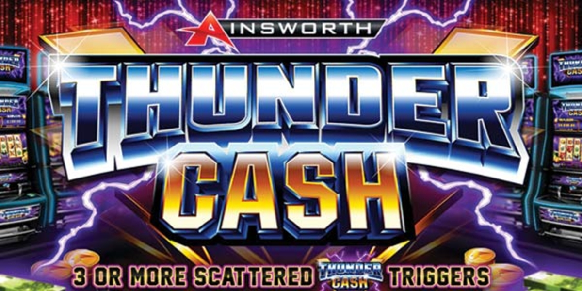 The Thunder Cash Online Slot Demo Game by Ainsworth Gaming Technology
