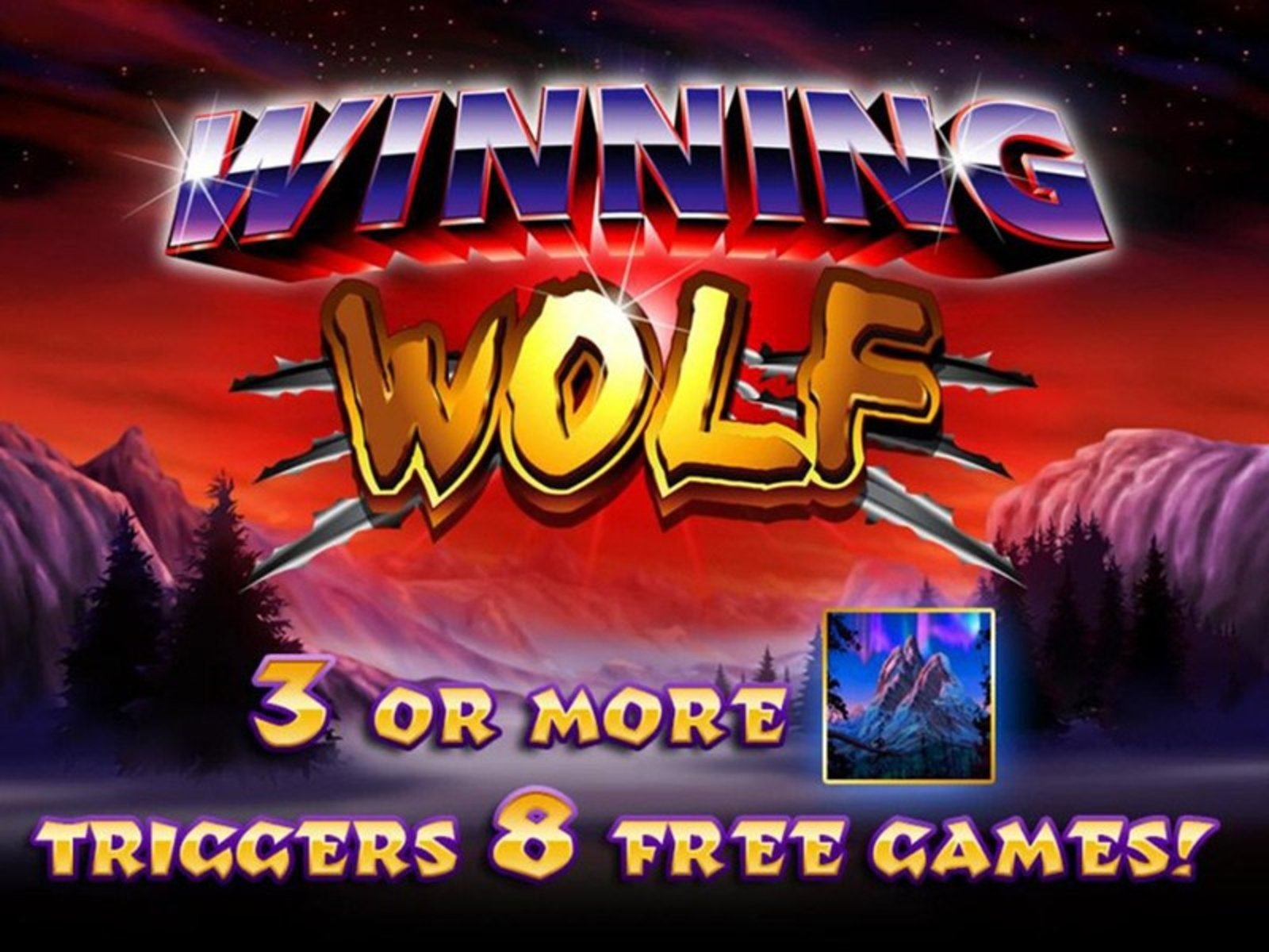The Winning Wolf Online Slot Demo Game by Ainsworth