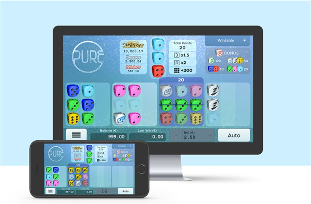 The Pure Online Slot Demo Game by Air Dice