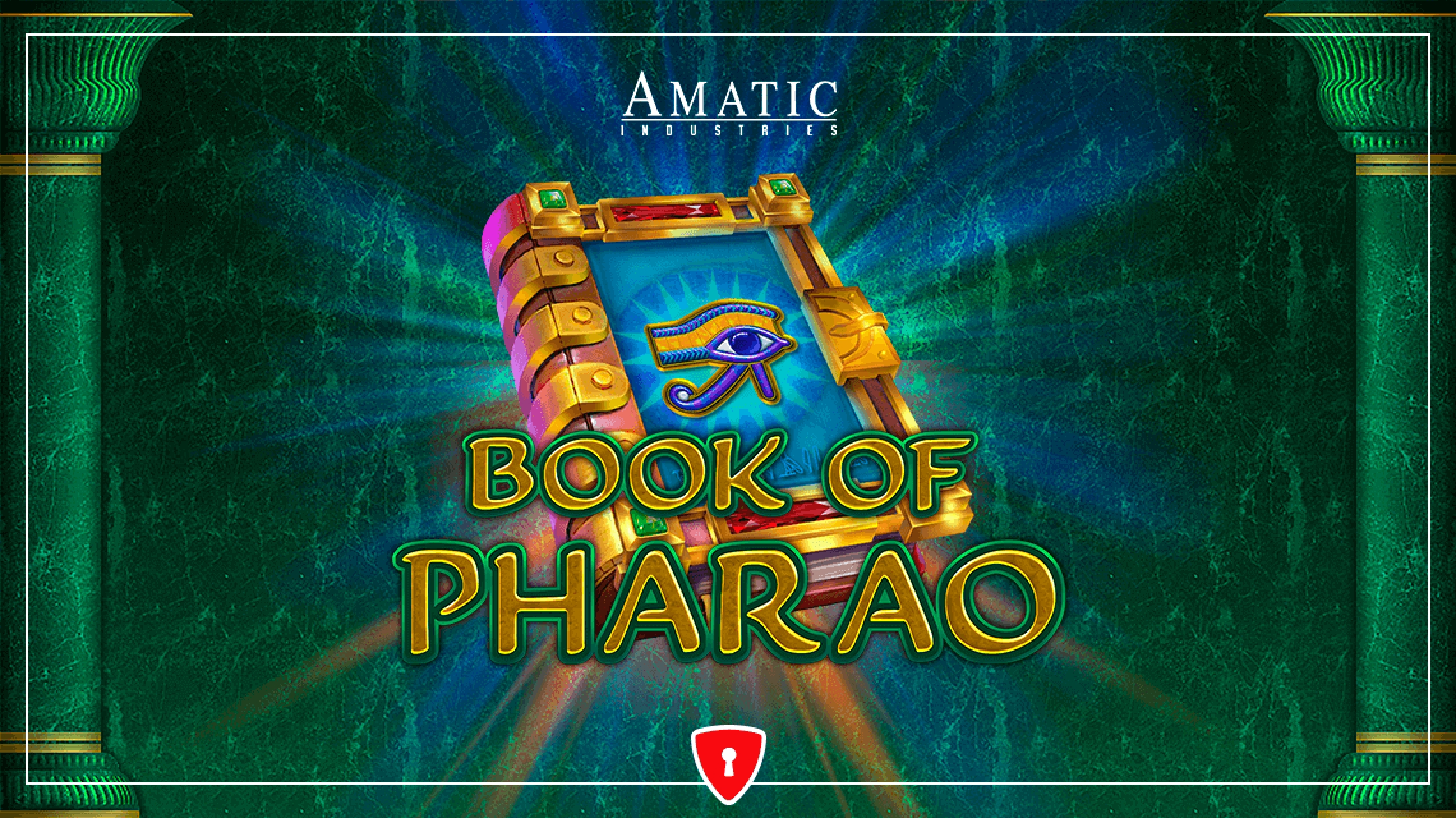 The Book of Pharao Online Slot Demo Game by Amatic Industries